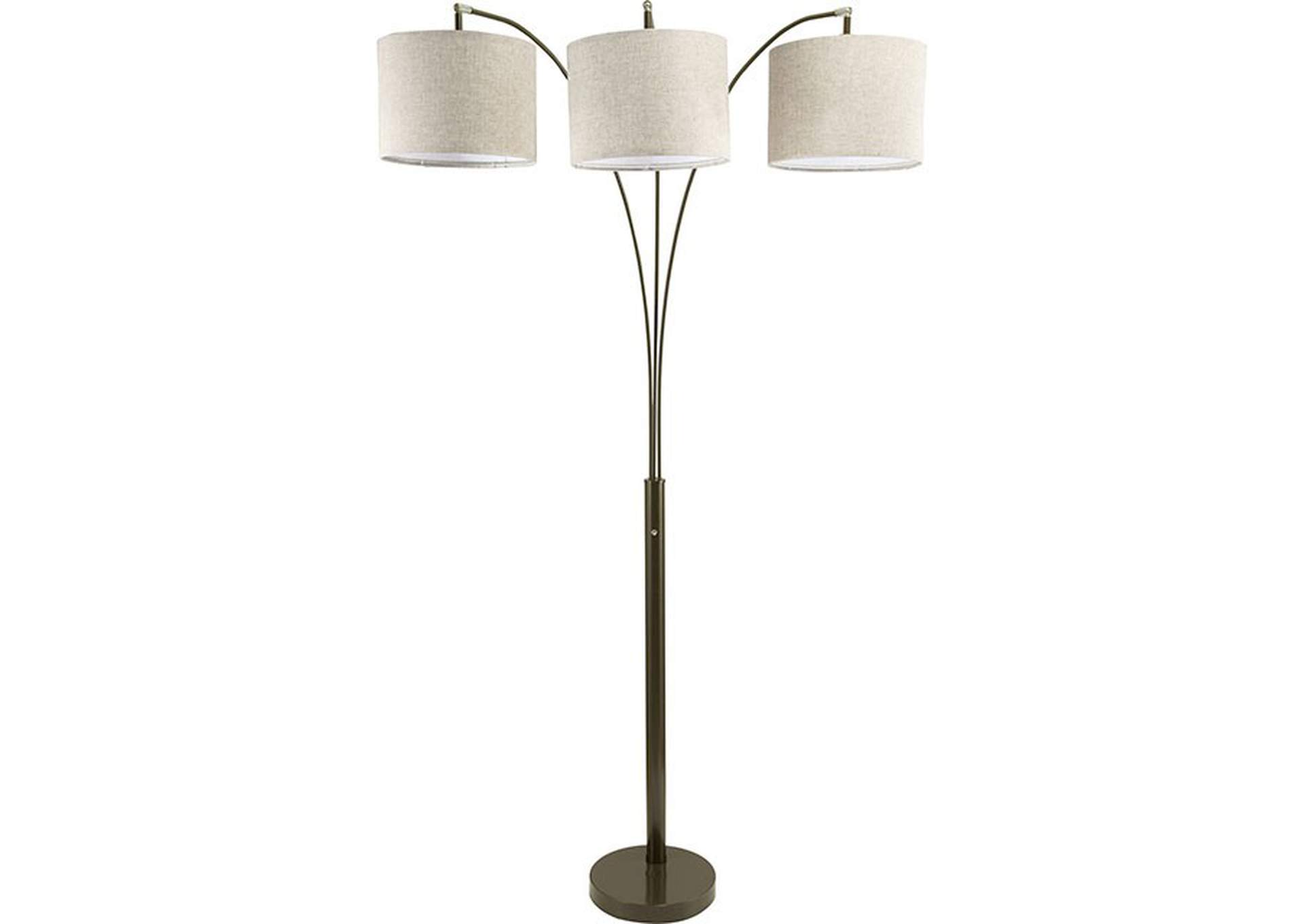 Fanny Brown Floor Lamp,Furniture of America