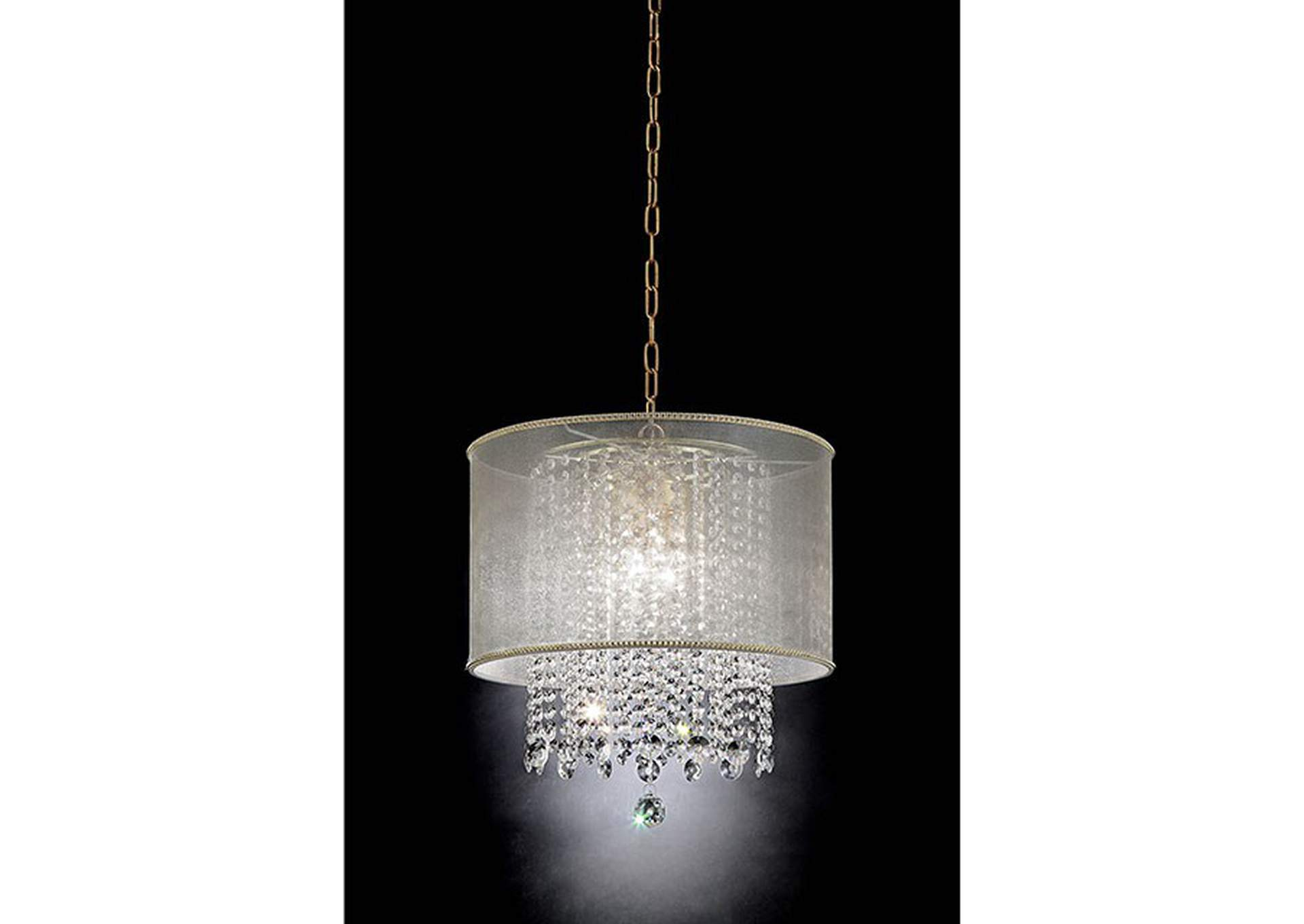 Ana Gold Ceiling Lamp,Furniture of America