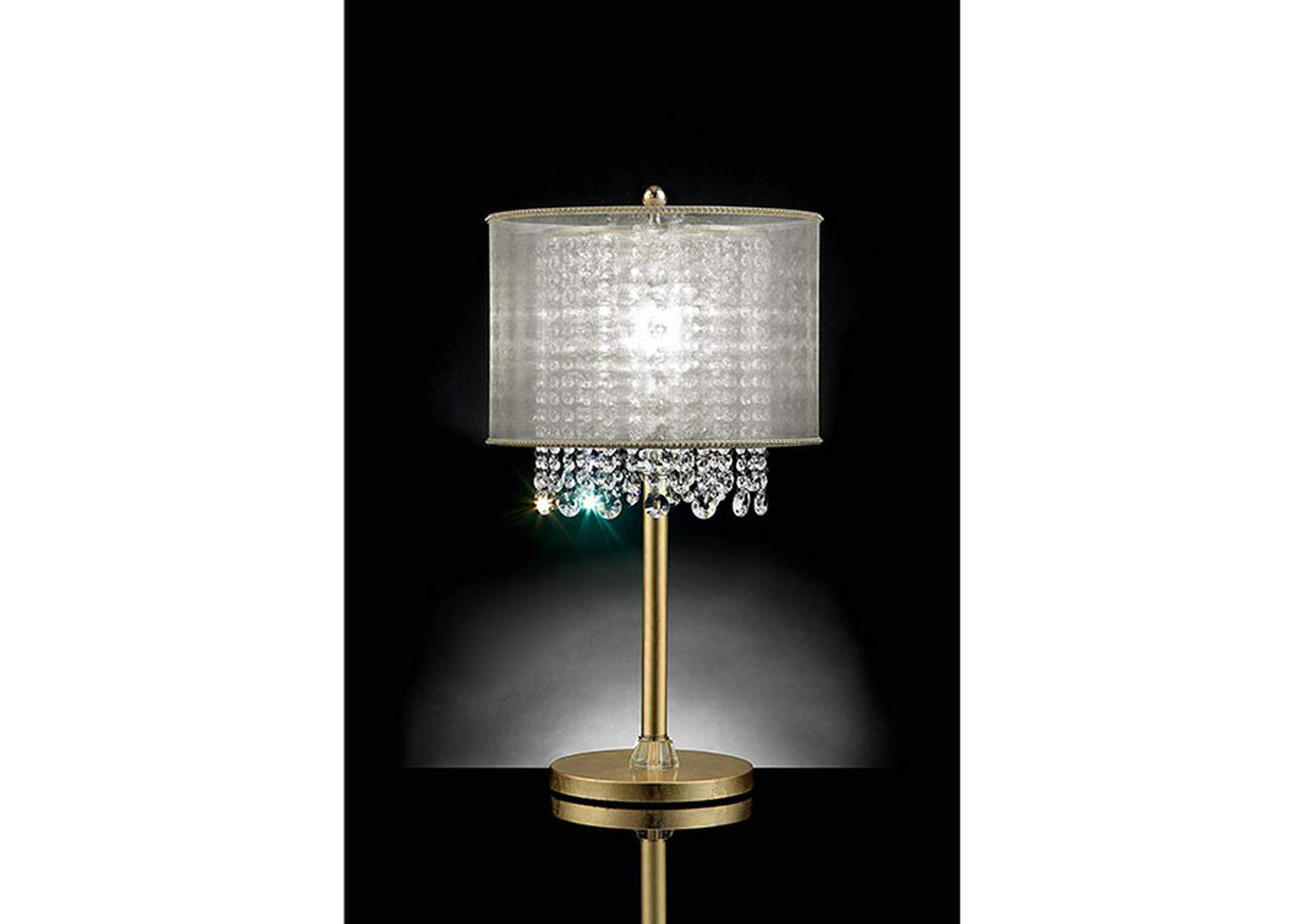 Ana Gold Table Lamp,Furniture of America
