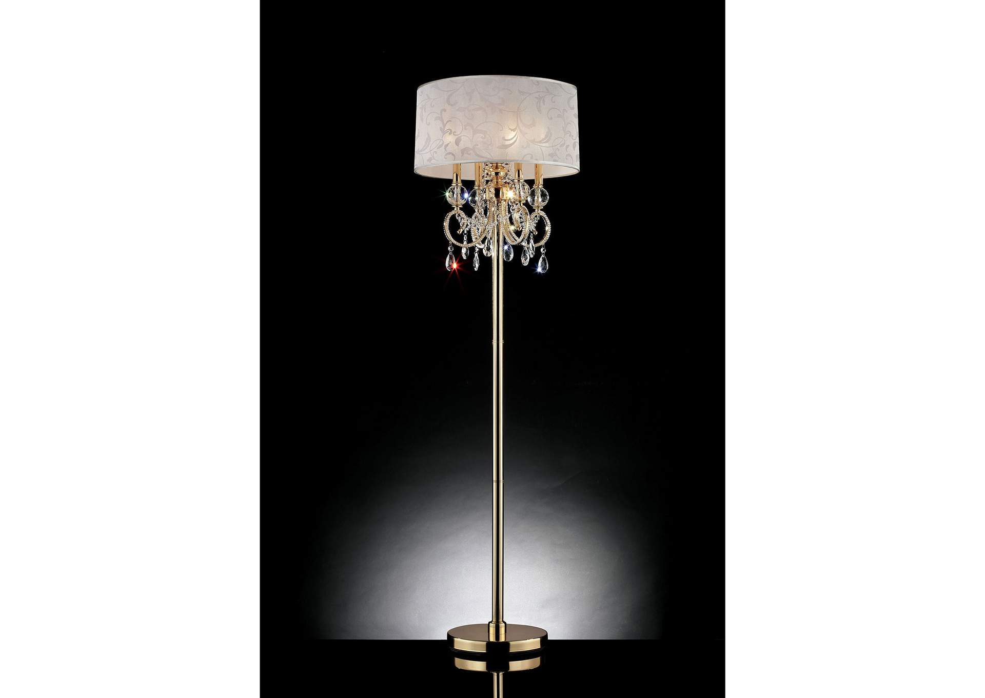 Deborah Floor Lamp,Furniture of America