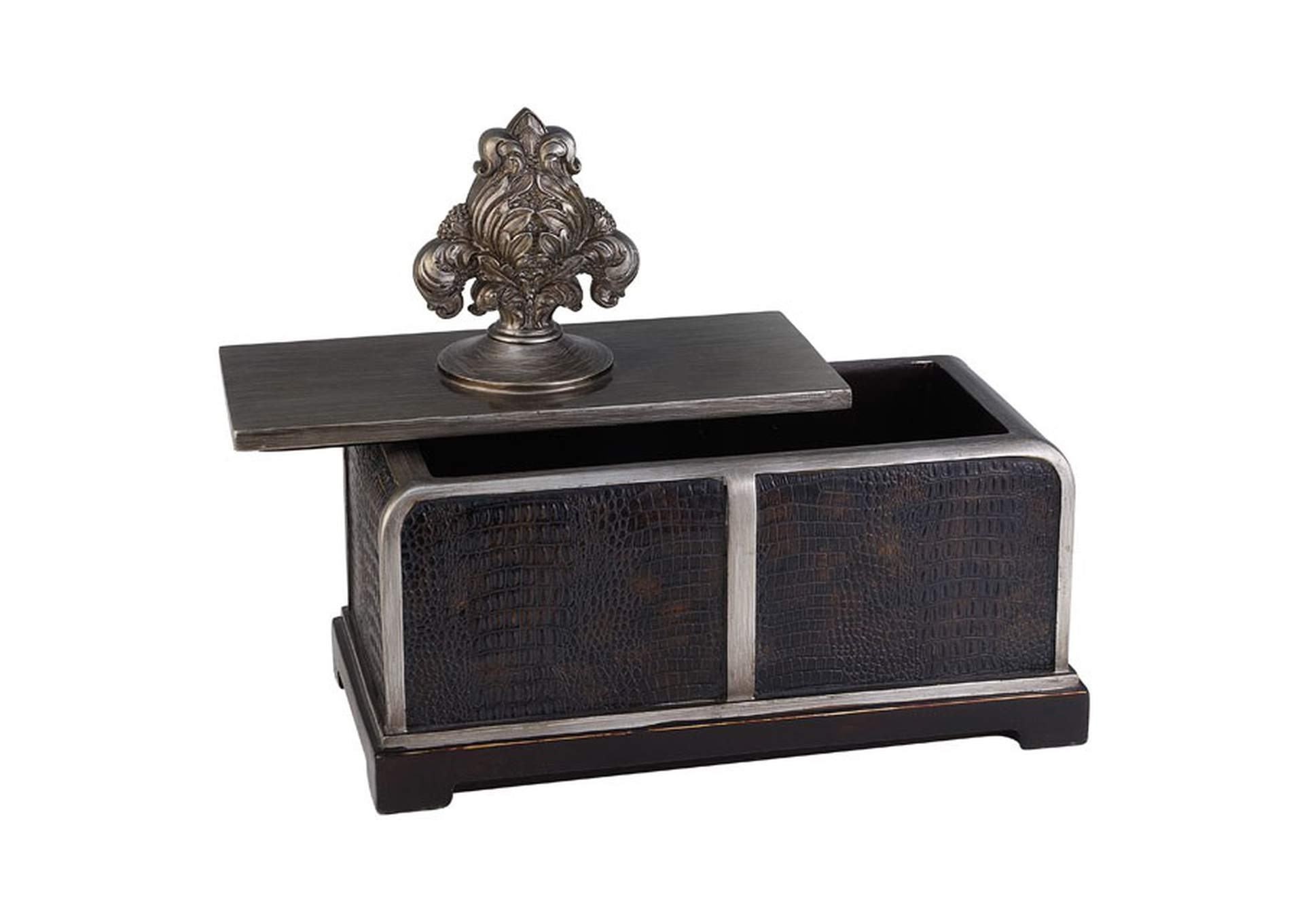 Tracey Brown Decorative Box (Set of 4),Furniture of America