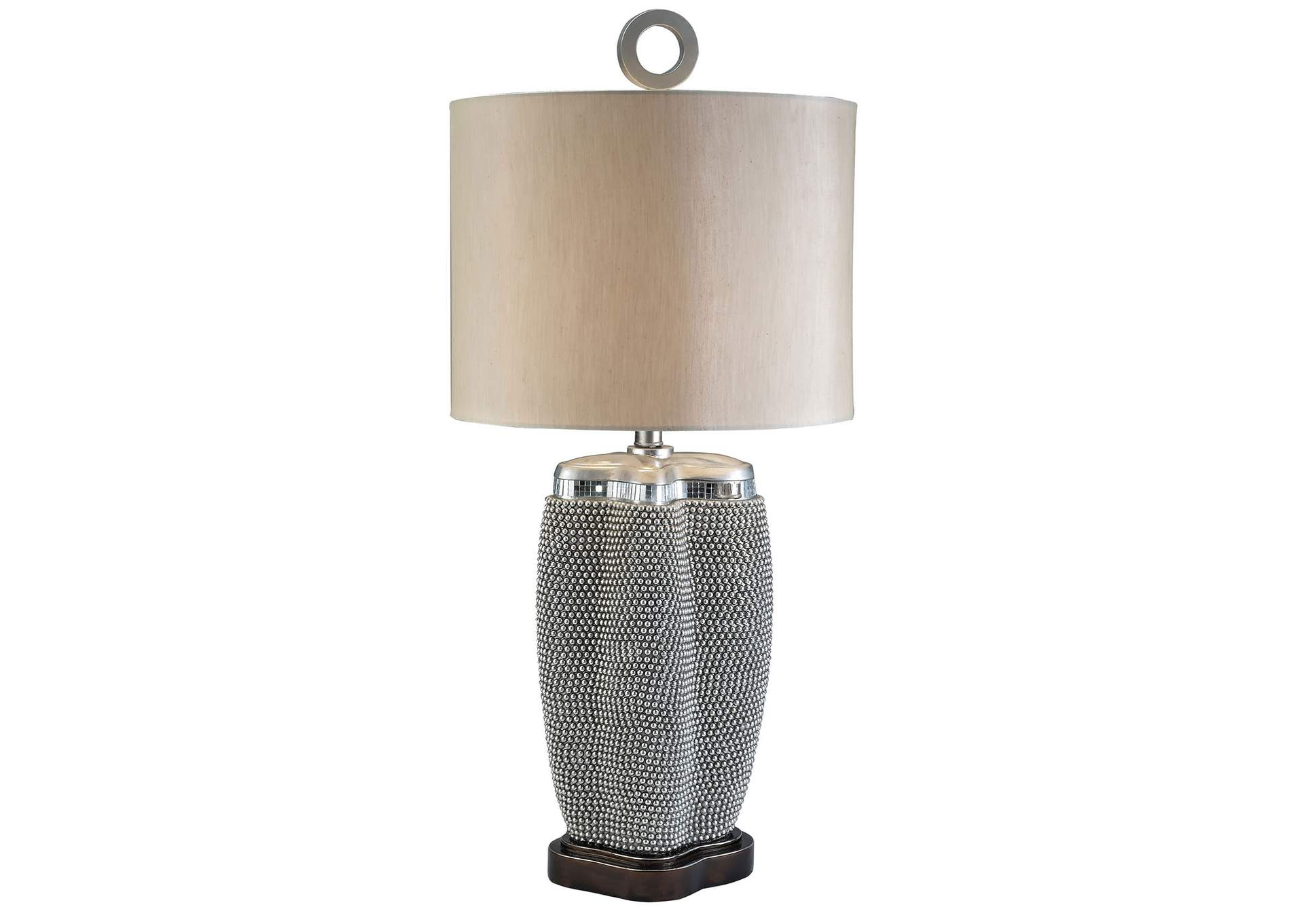 Sylvia Chrome Table Lamp,Furniture of America