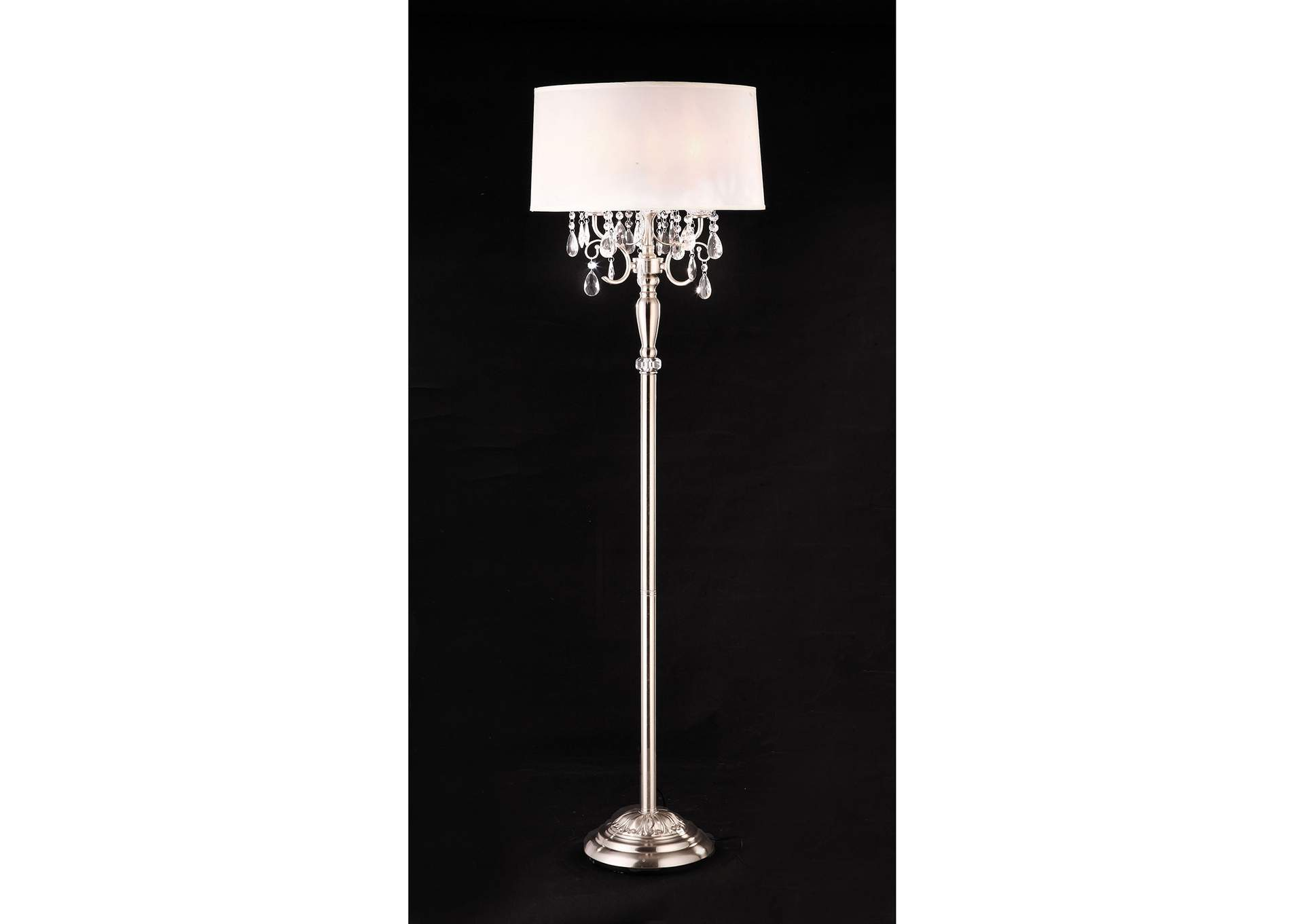 Sophy White Floor Lamp,Furniture of America
