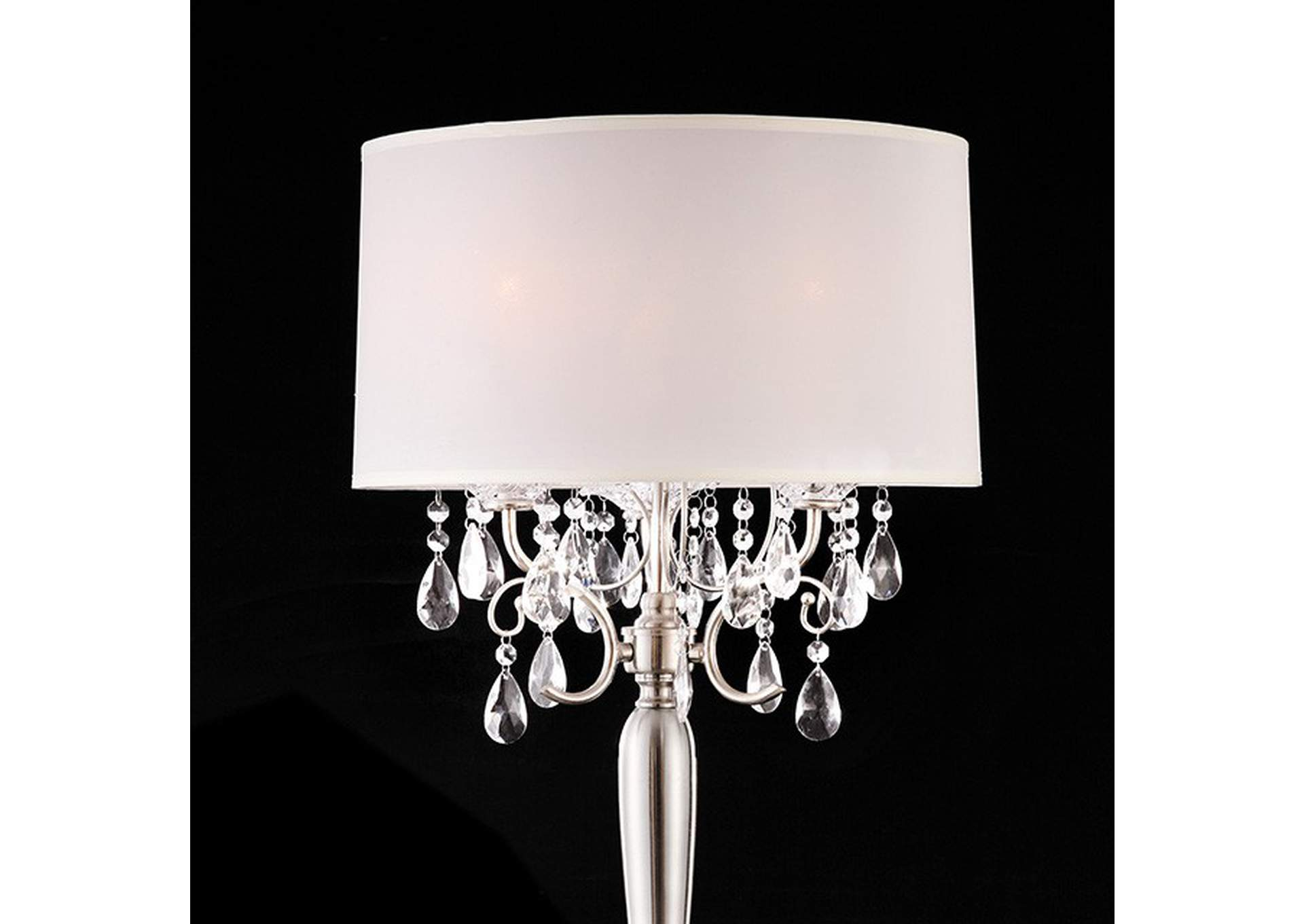 Sophy White Table Lamp,Furniture of America