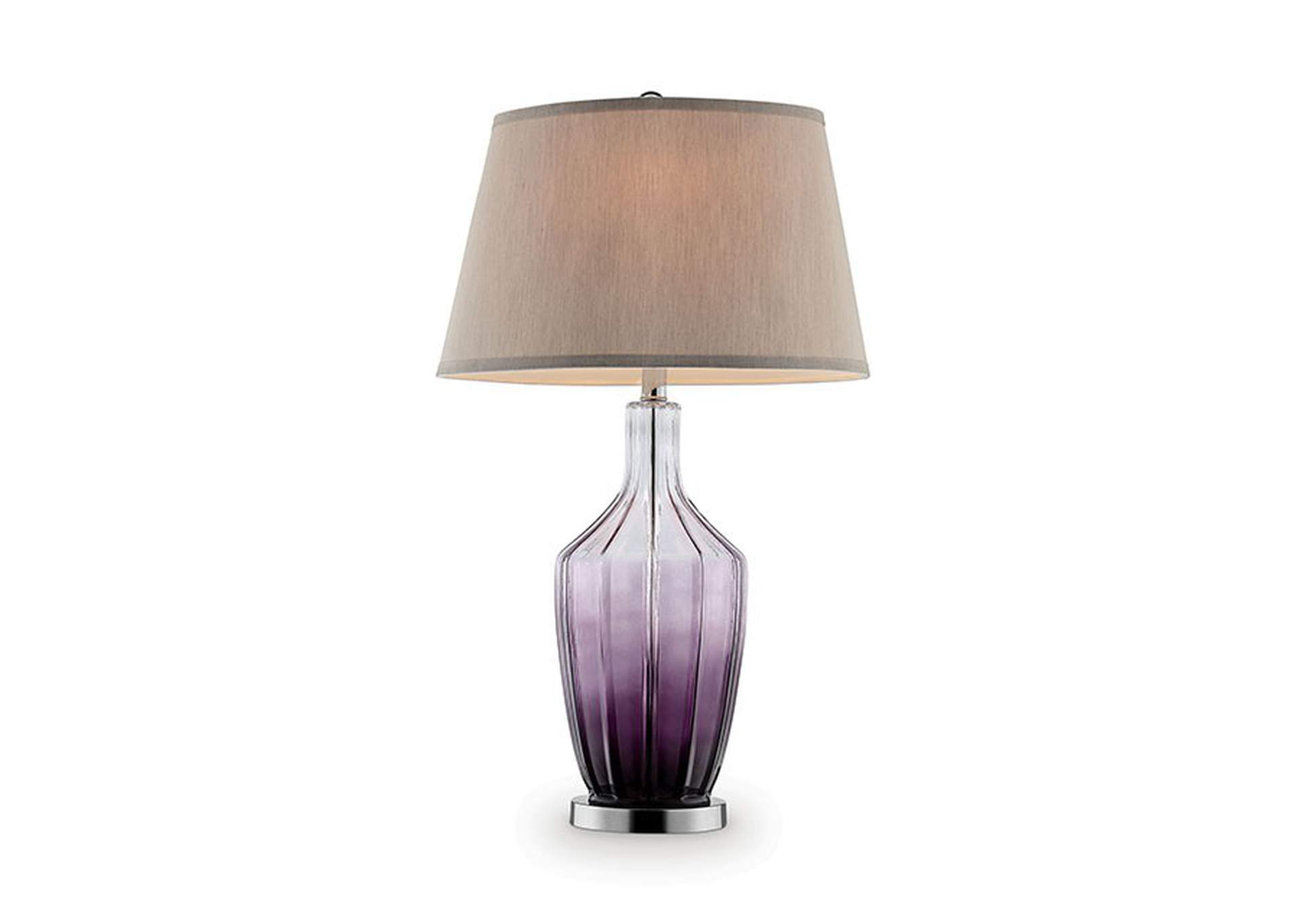 Cher Purple Table Lamp,Furniture of America