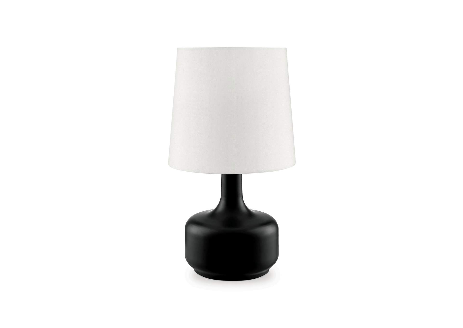Farah Black Table Lamp,Furniture of America