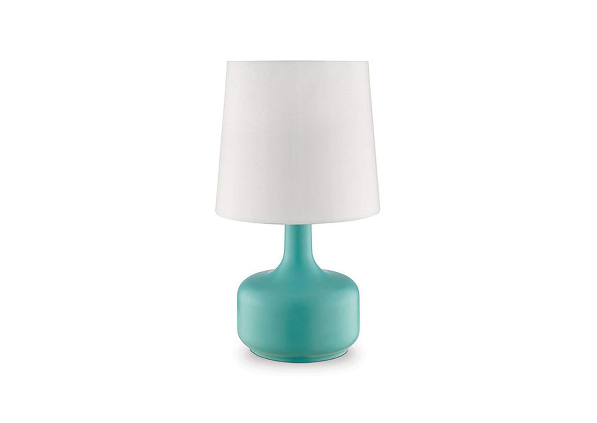 Farah Teal Table Lamp,Furniture of America
