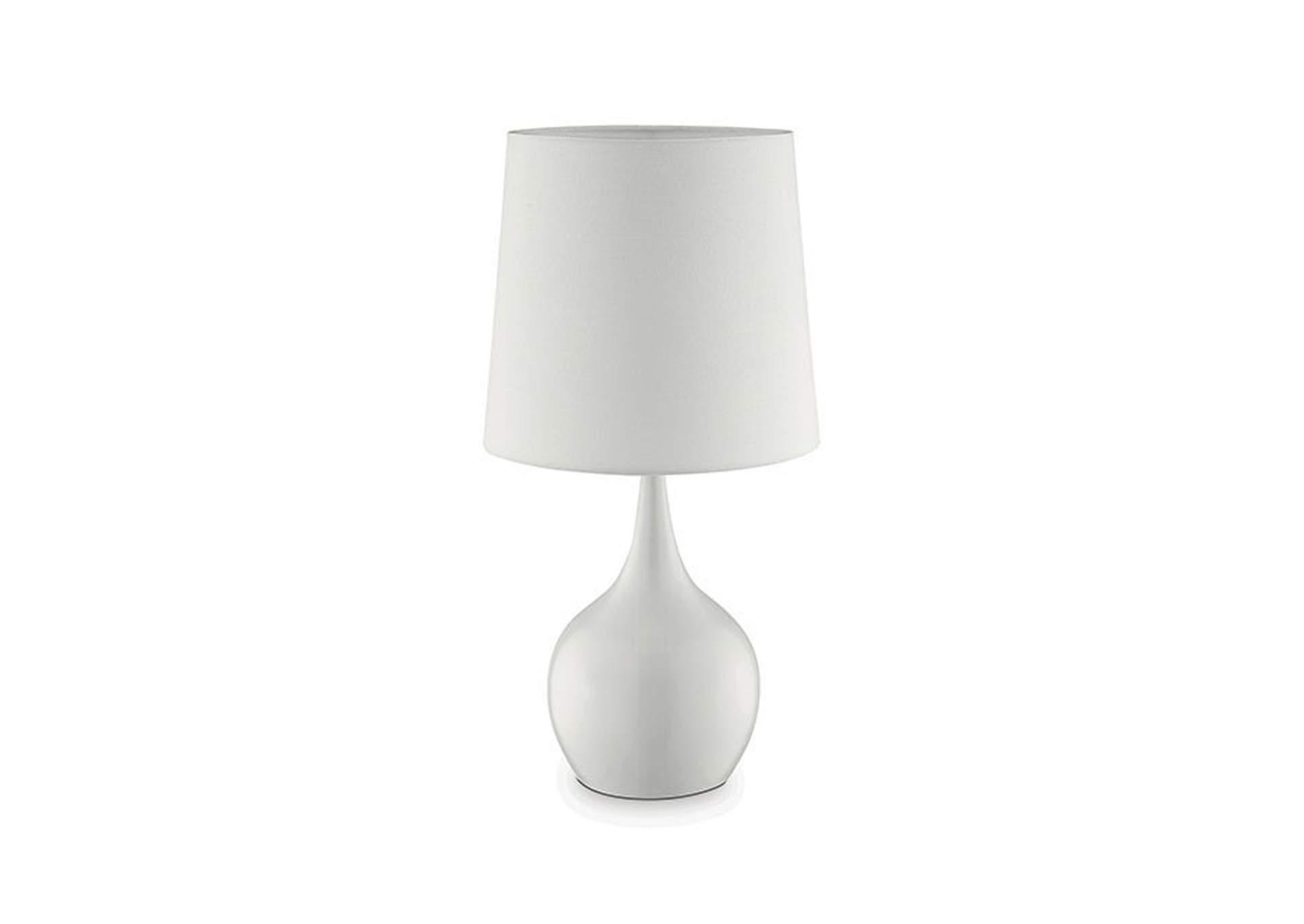 Edie White Table Lamp,Furniture of America