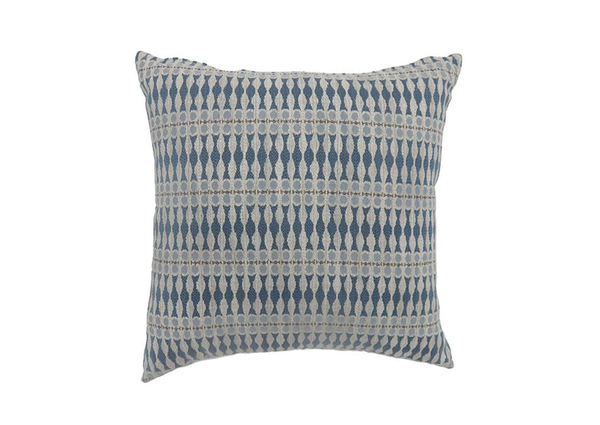 Malia Blue Throw Pillow,Furniture of America