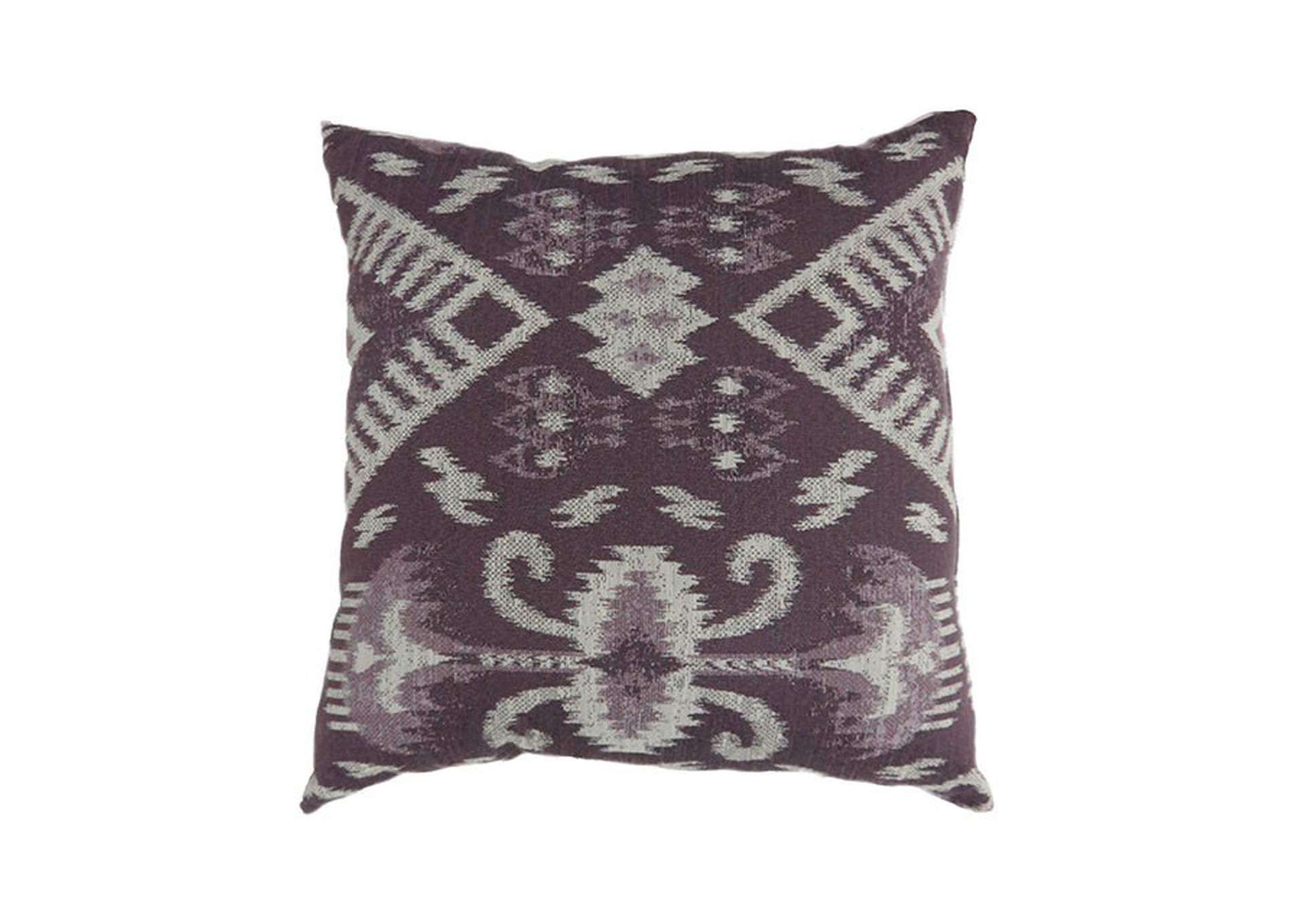 Zena Purple Throw Pillow,Furniture of America