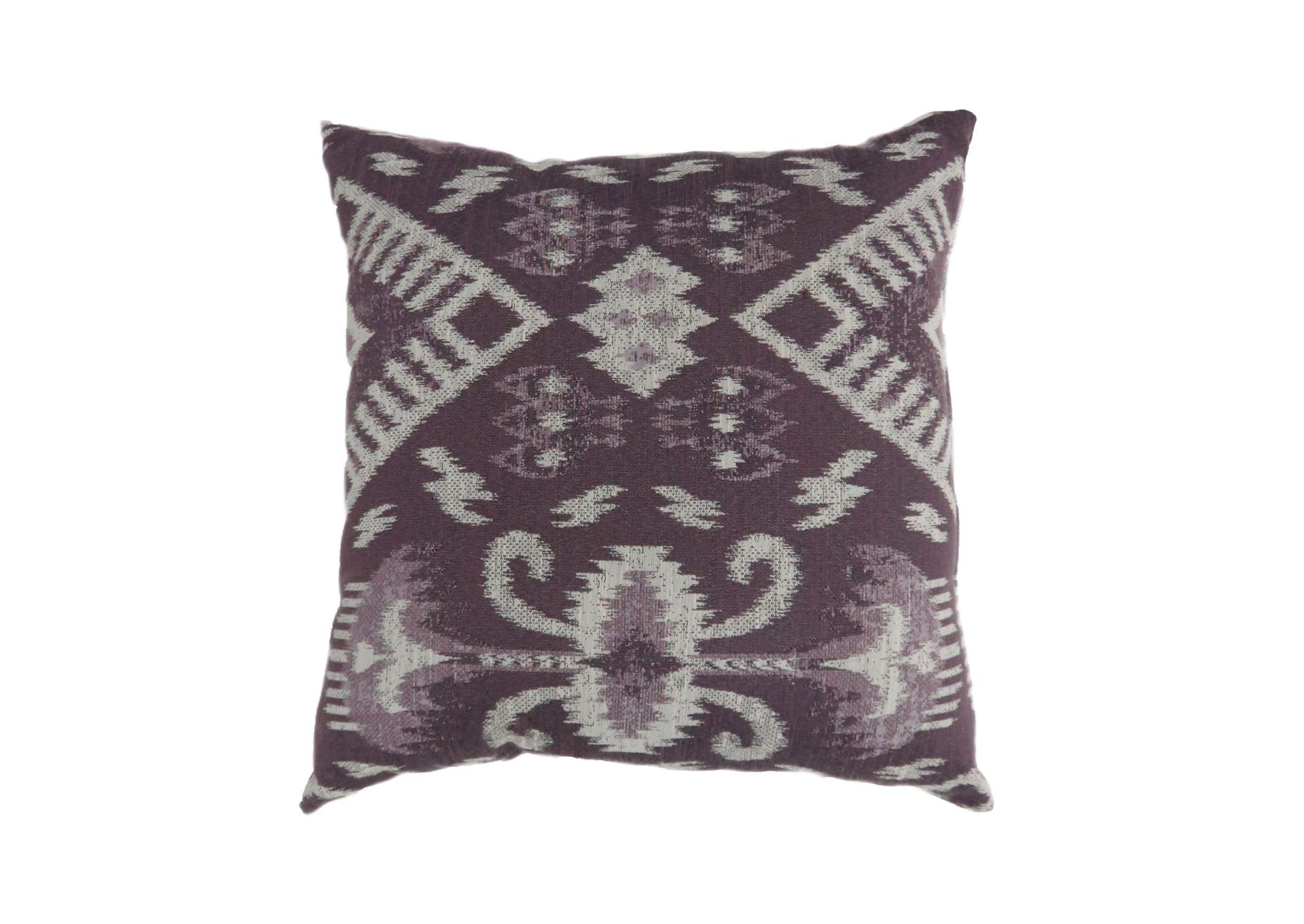 Zena Purple Large Throw Pillow (Set of 2),Furniture of America