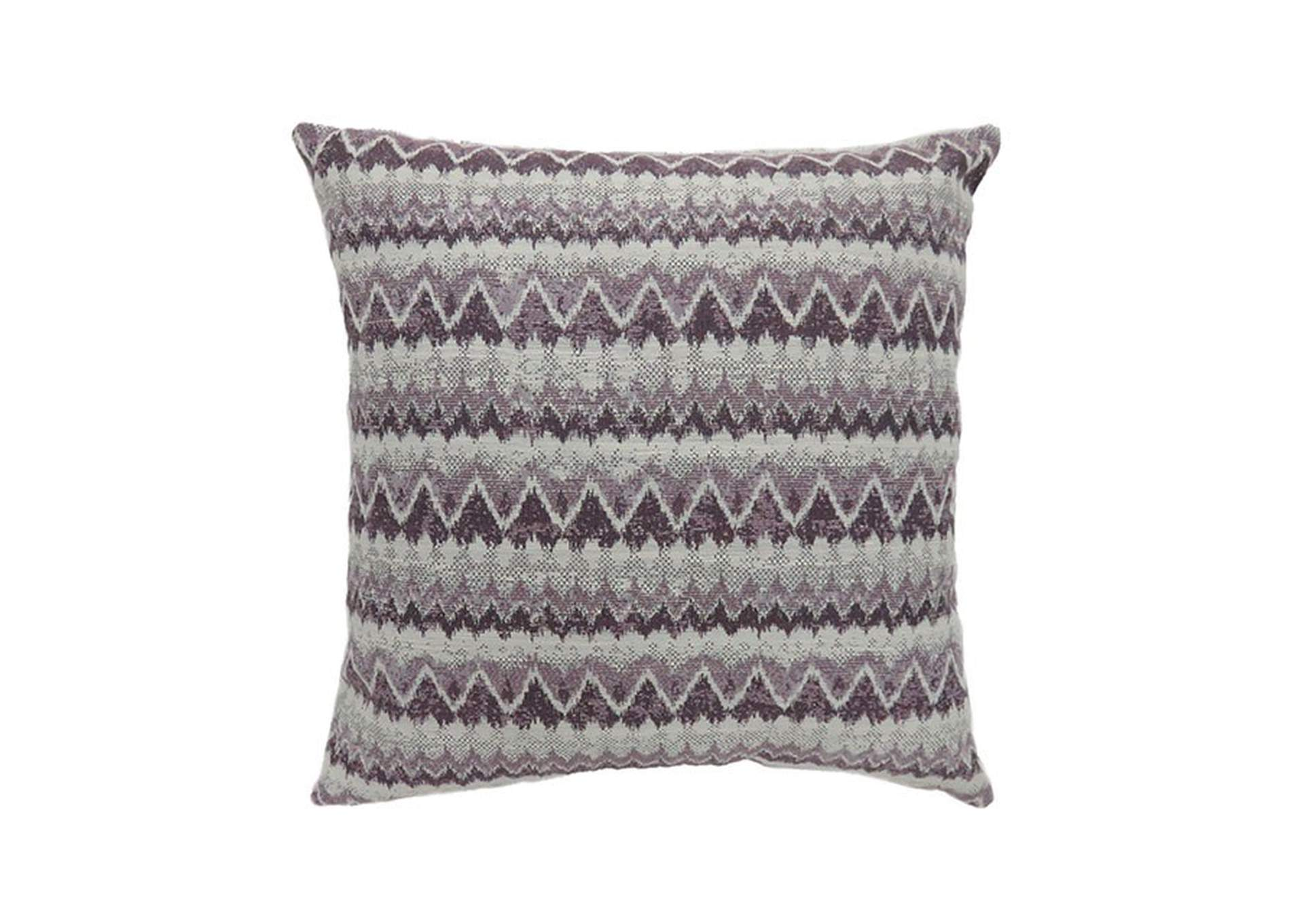Lindy Purple Throw Pillow,Furniture of America