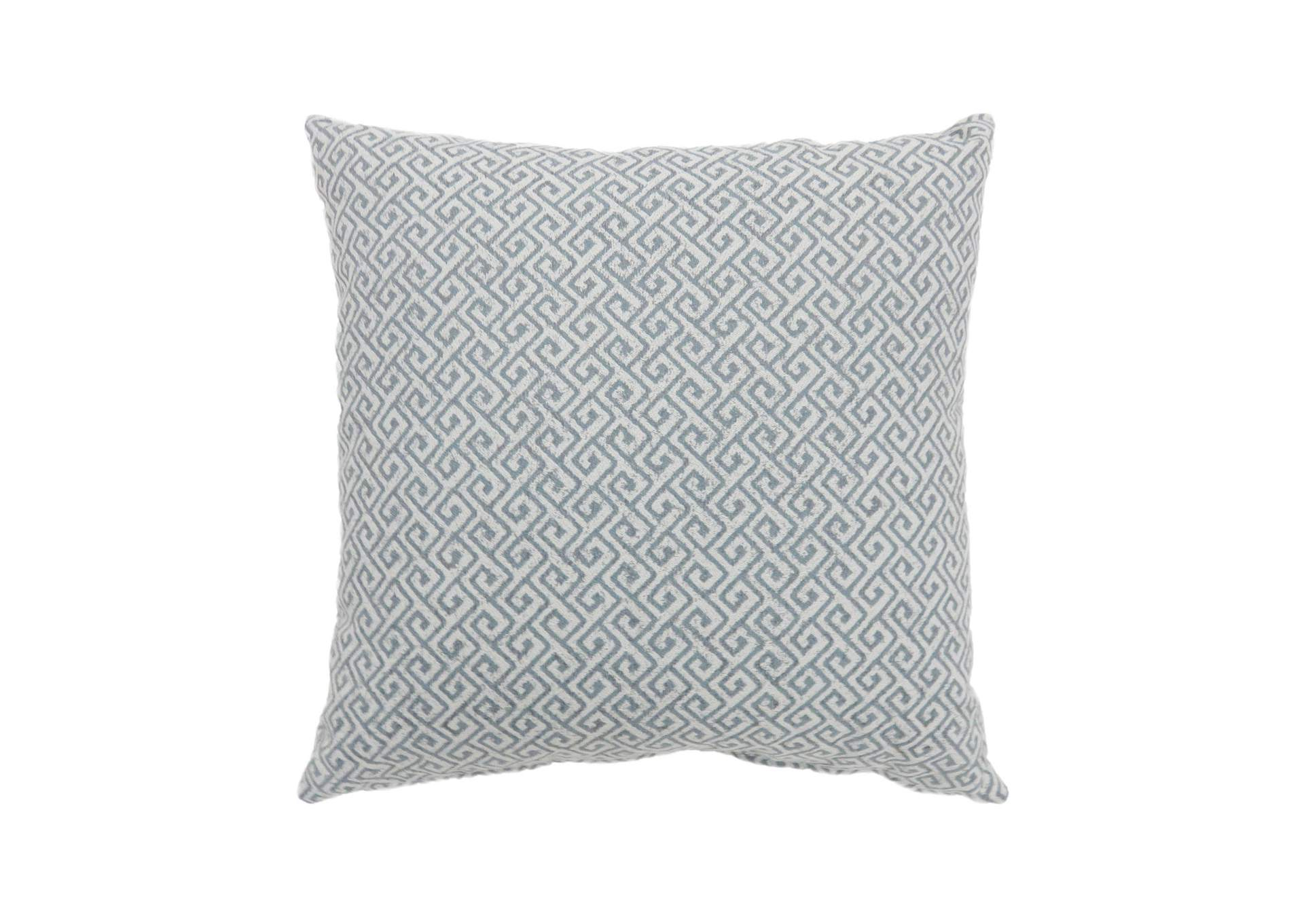 Ricki Blue Throw Pillow,Furniture of America