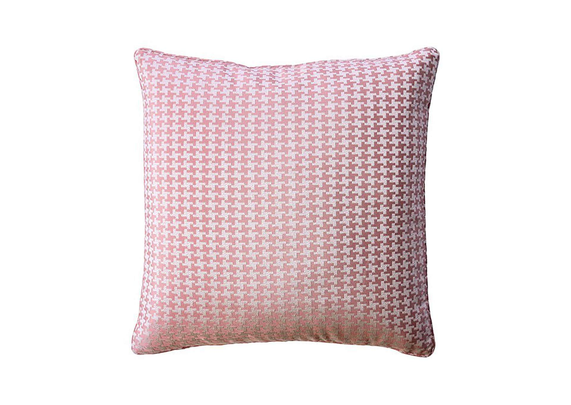 Jeri Pink Throw Pillow (Set of 2),Furniture of America