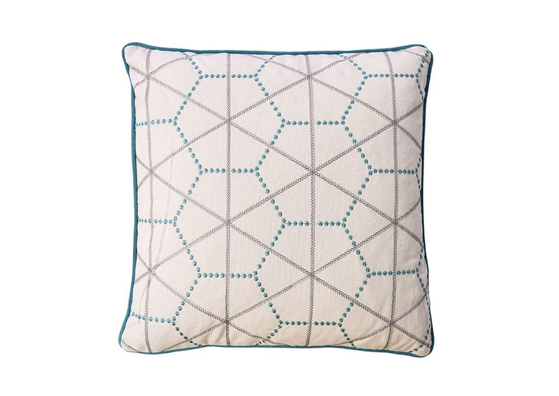 Lee Turquoise Throw Pillow,Furniture of America