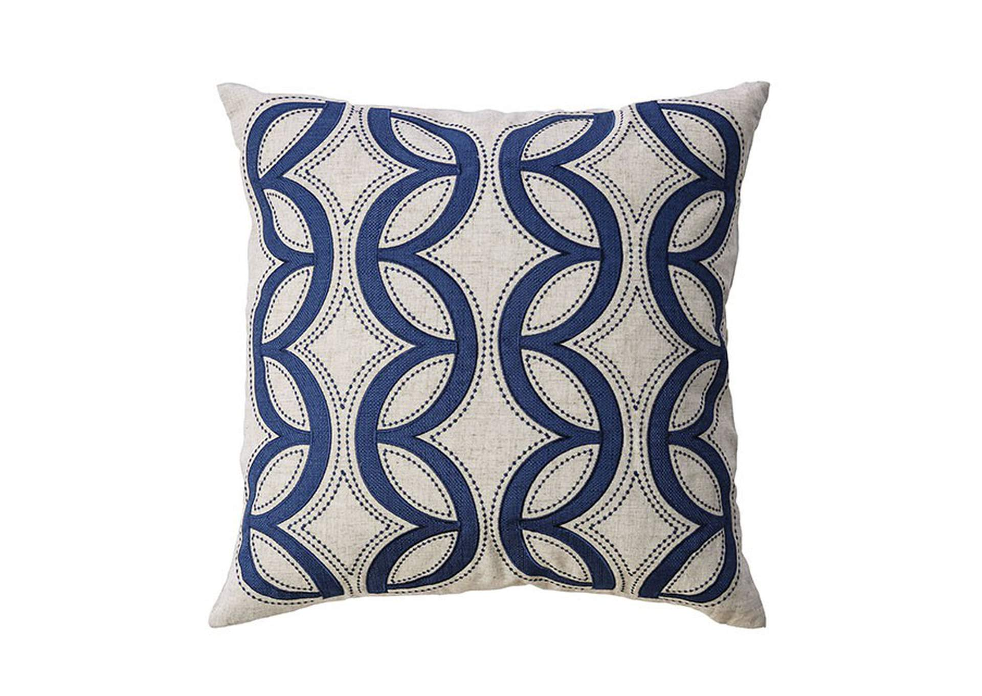 Teri Beige Throw Pillow,Furniture of America