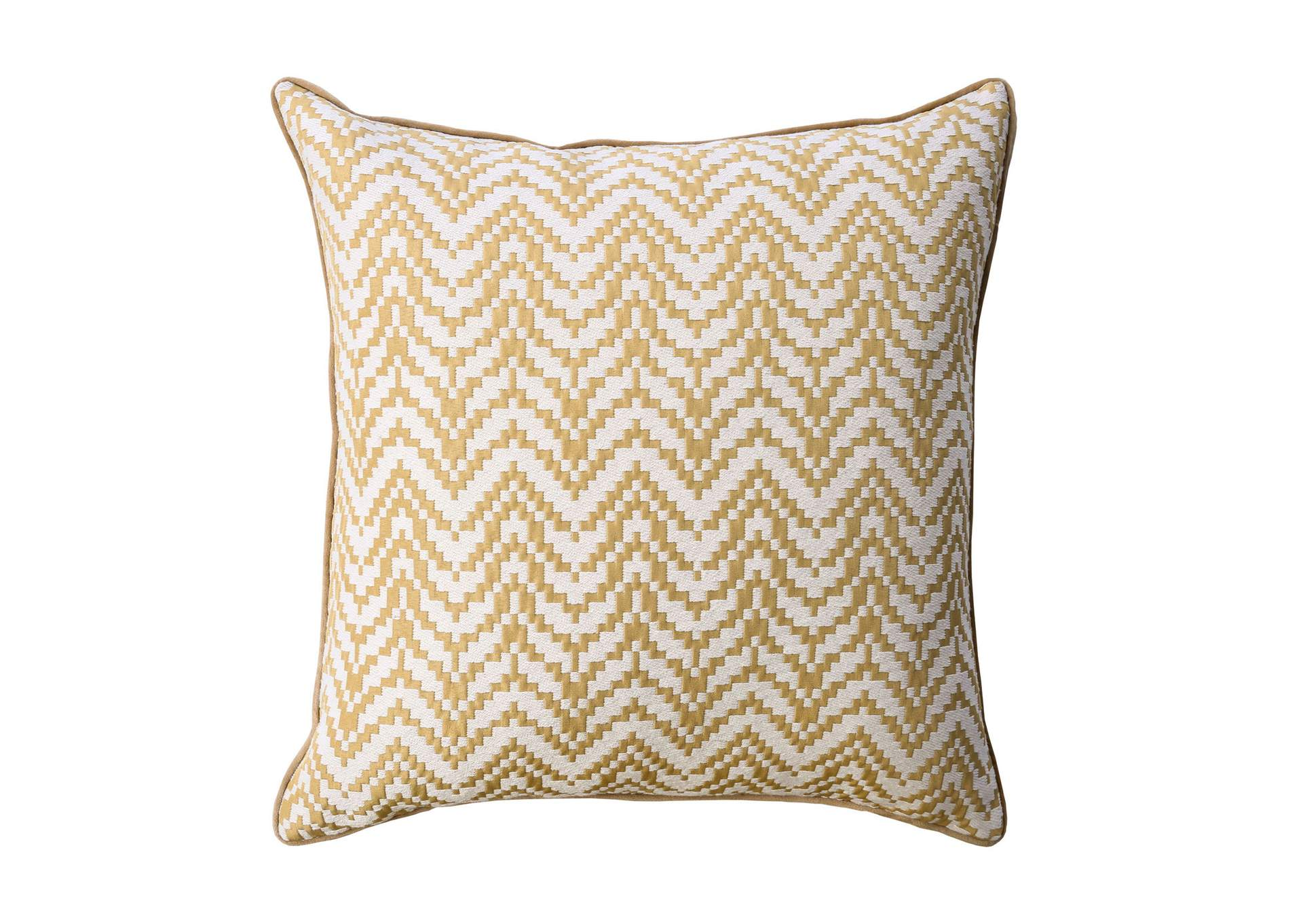 Jane Gold Throw Pillow (Set of 2),Furniture of America