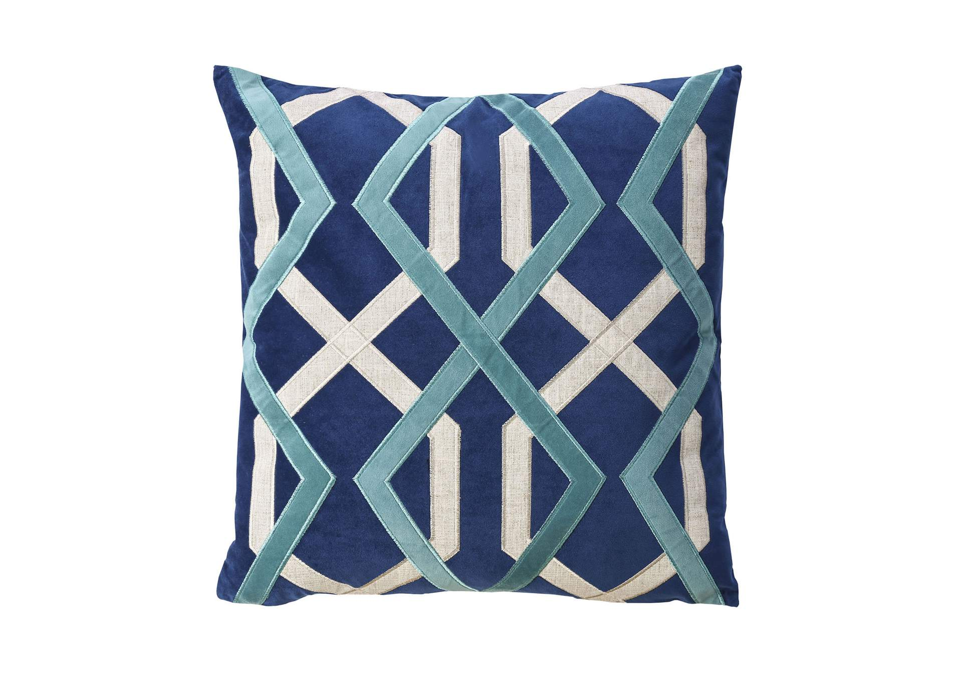 Bea Indigo Throw Pillow,Furniture of America