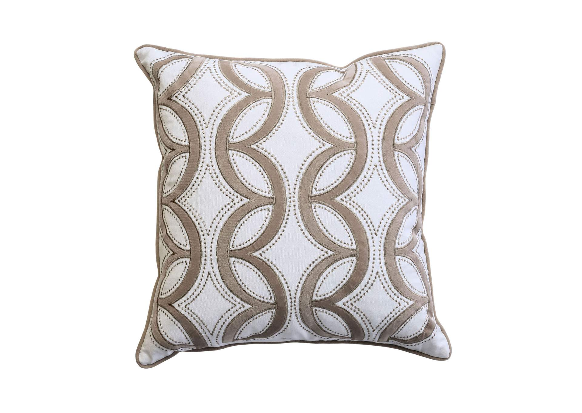 Lati Latte Throw Pillow,Furniture of America