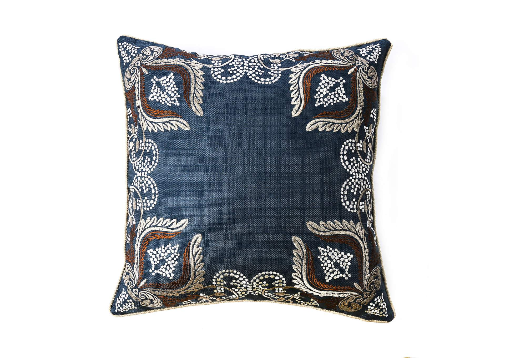 Dina Navy Throw Pillow (Set of 2),Furniture of America