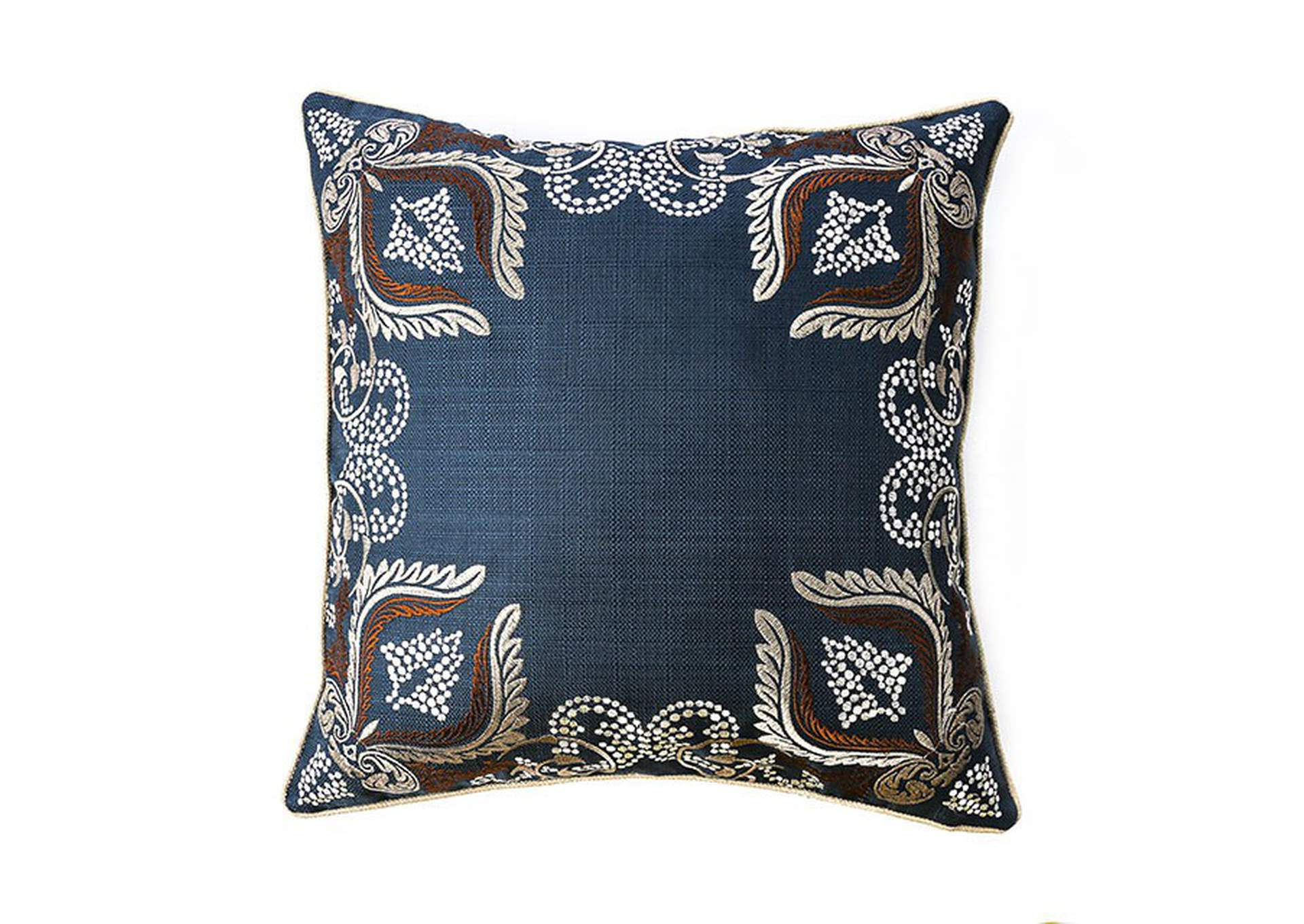 Dina Navy Throw Pillow,Furniture of America