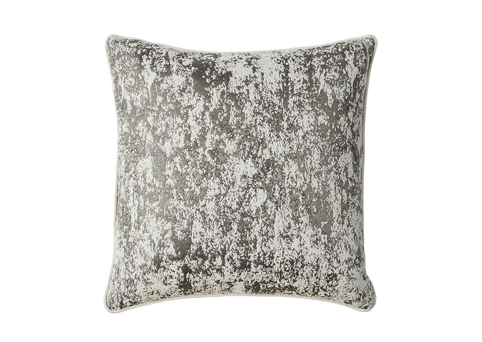 Snow Silver Throw Pillow,Furniture of America