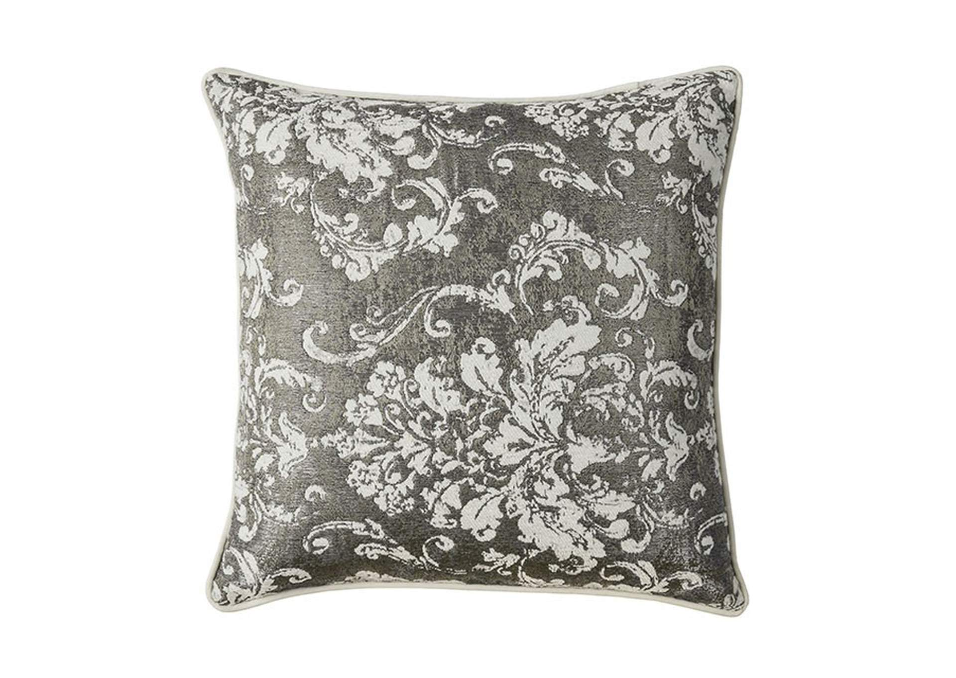 Shary Silver Throw Pillow,Furniture of America
