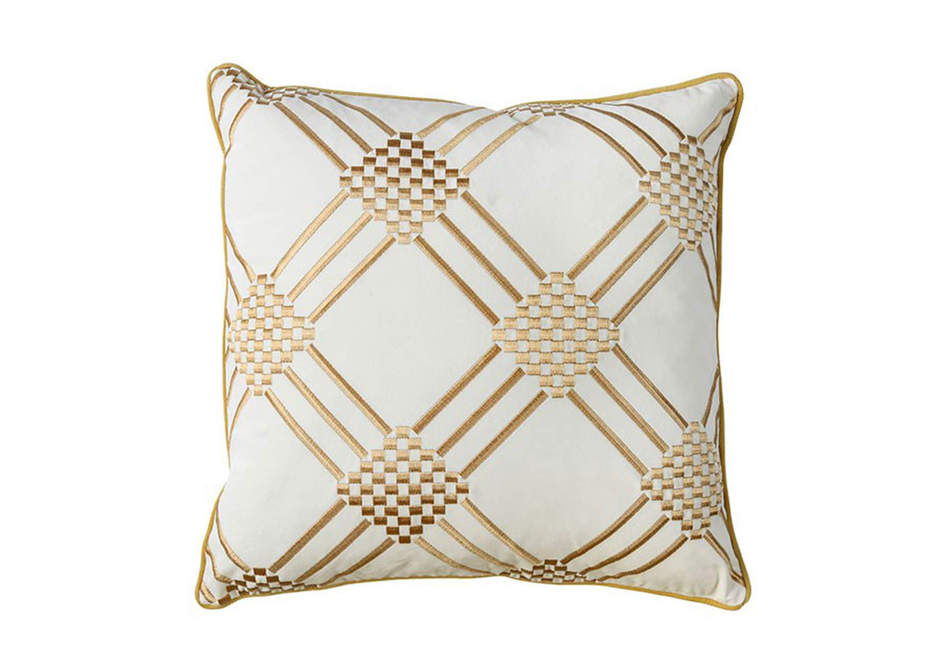 Pam Ivory Throw Pillow,Furniture of America
