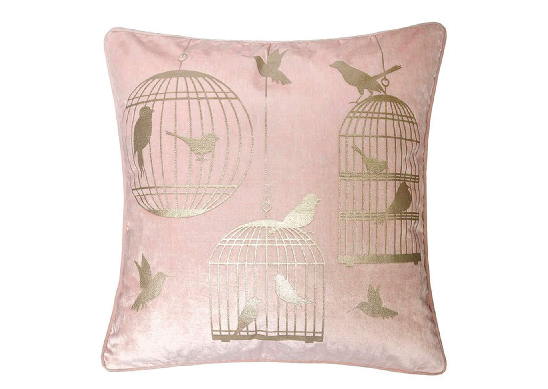 Rina Light Pink Accent Pillow,Furniture of America
