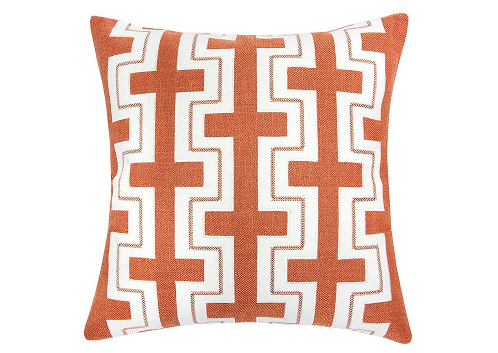 Kari Orange Accent Pillow (Set of 2),Furniture of America