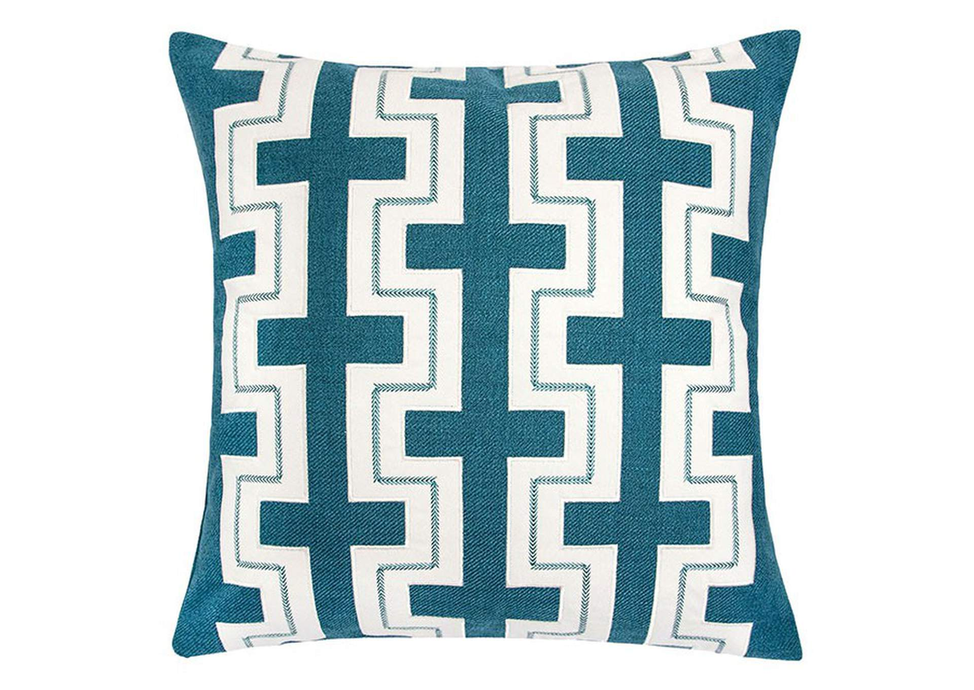 Kari Teal Accent Pillow,Furniture of America