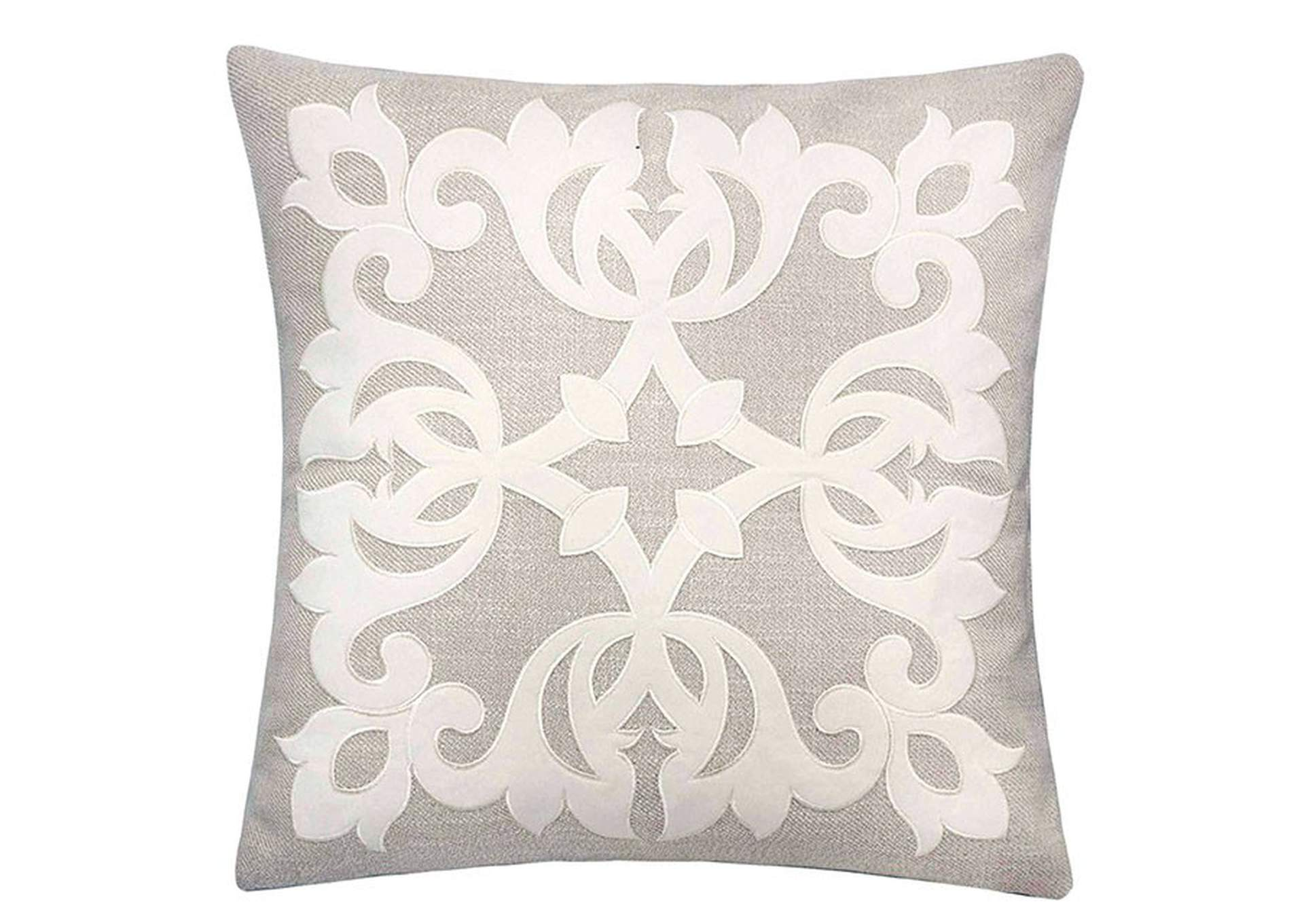 Trudy Beige Accent Pillow,Furniture of America