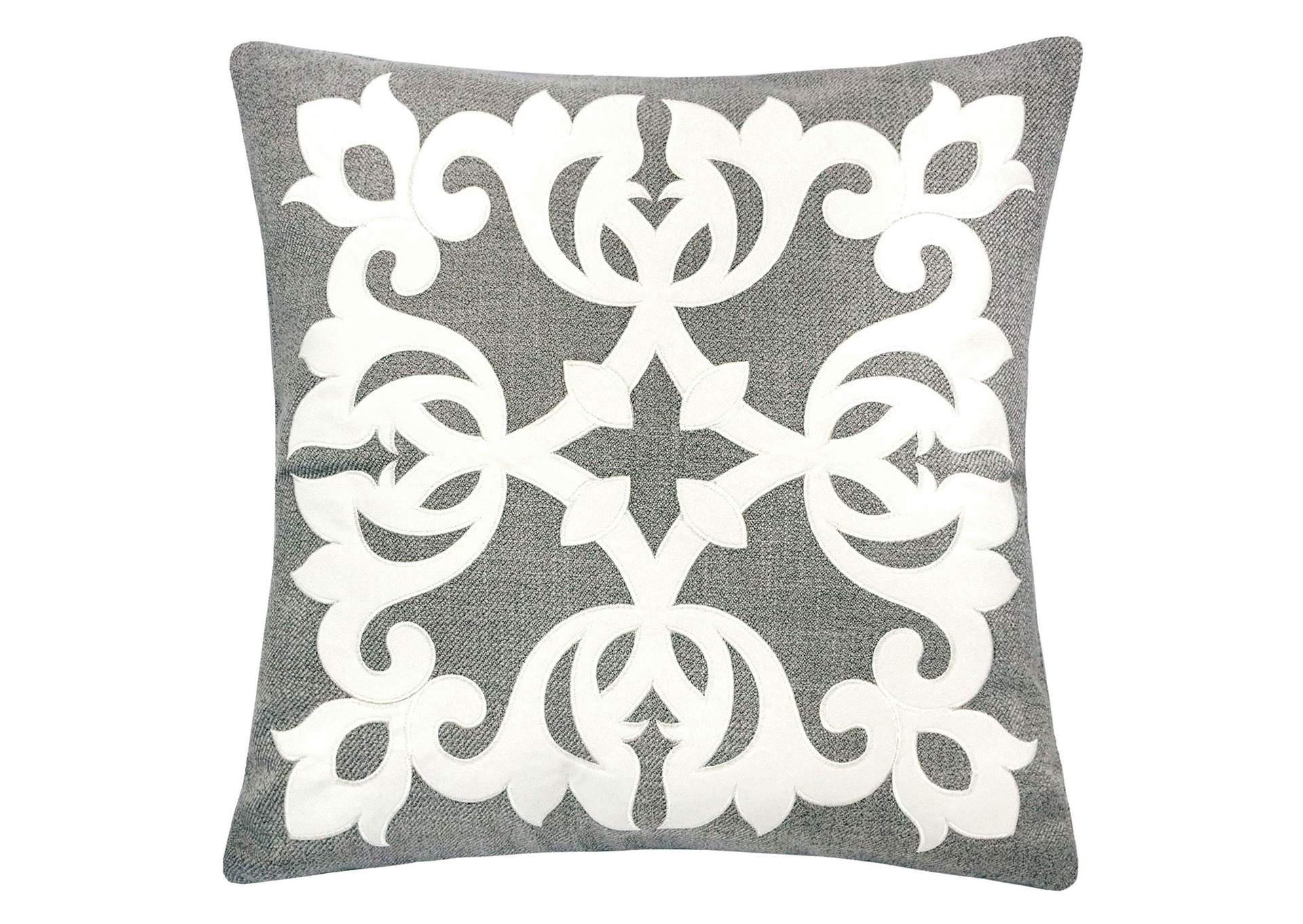 Trudy Silver Accent Pillow,Furniture of America