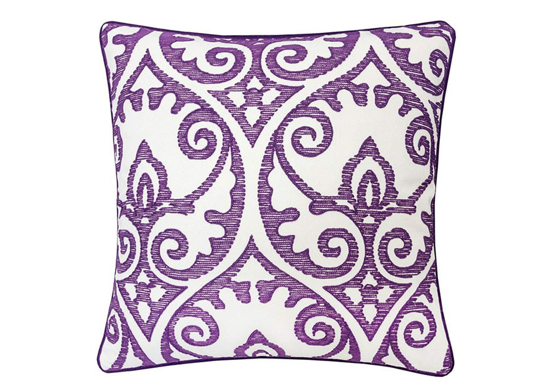Jorja Purple Accent Pillow,Furniture of America