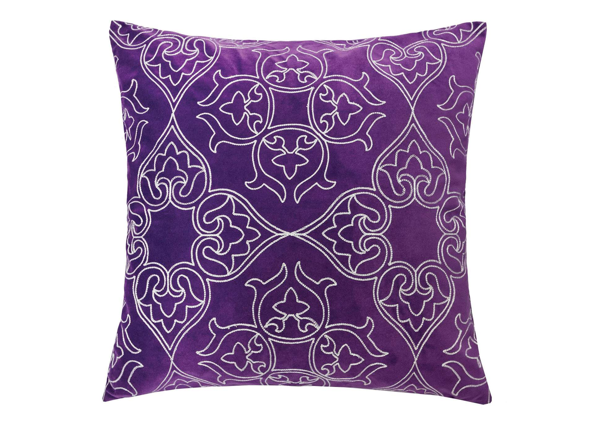 Kyla Purple Accent Pillow (Set of 2),Furniture of America