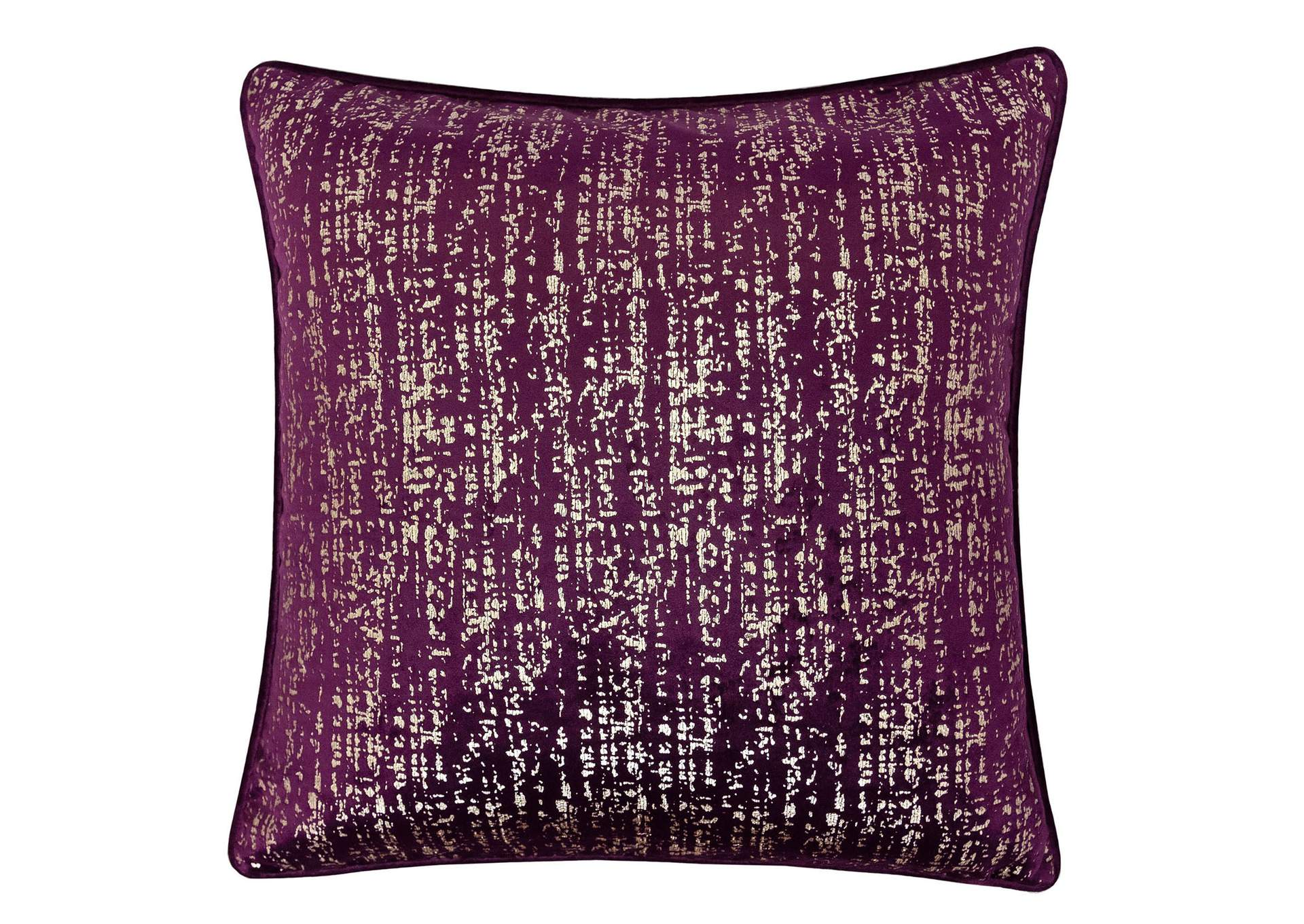 Belle Purple Accent Pillow,Furniture of America