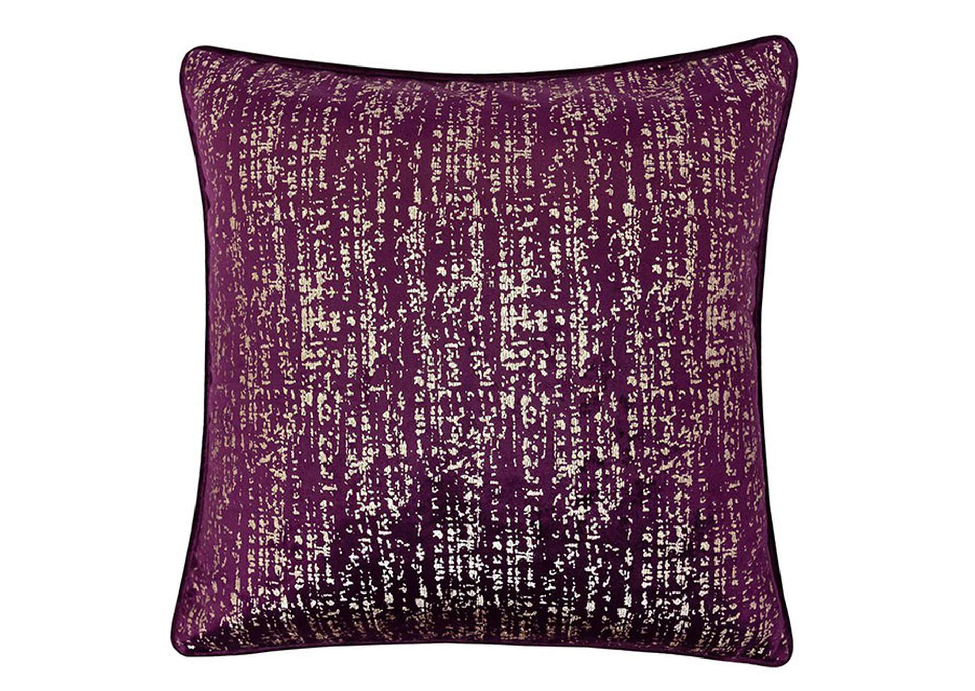 Belle Purple Accent Pillow (Set of 2),Furniture of America
