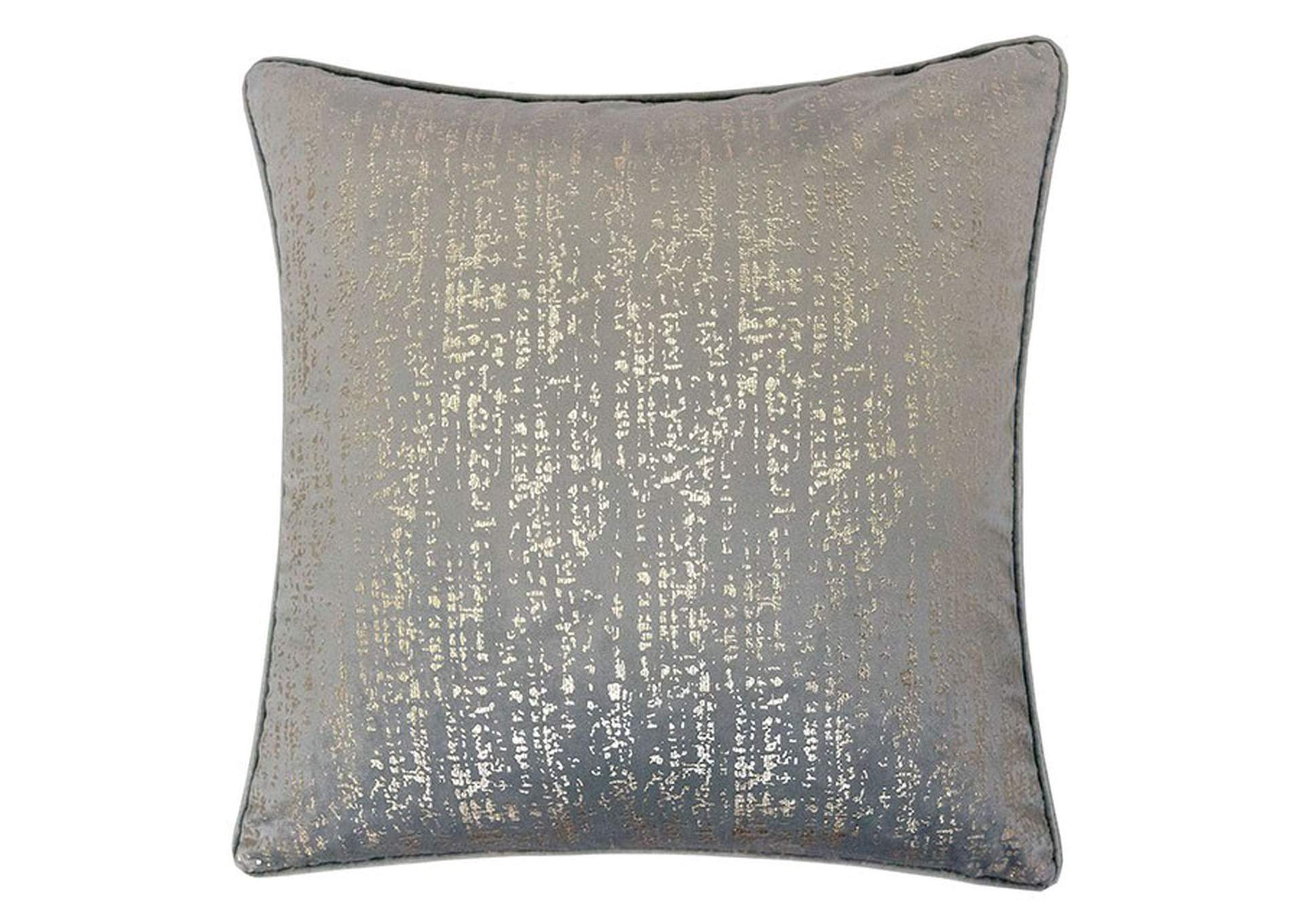 Belle Gray Accent Pillow (Set of 2),Furniture of America