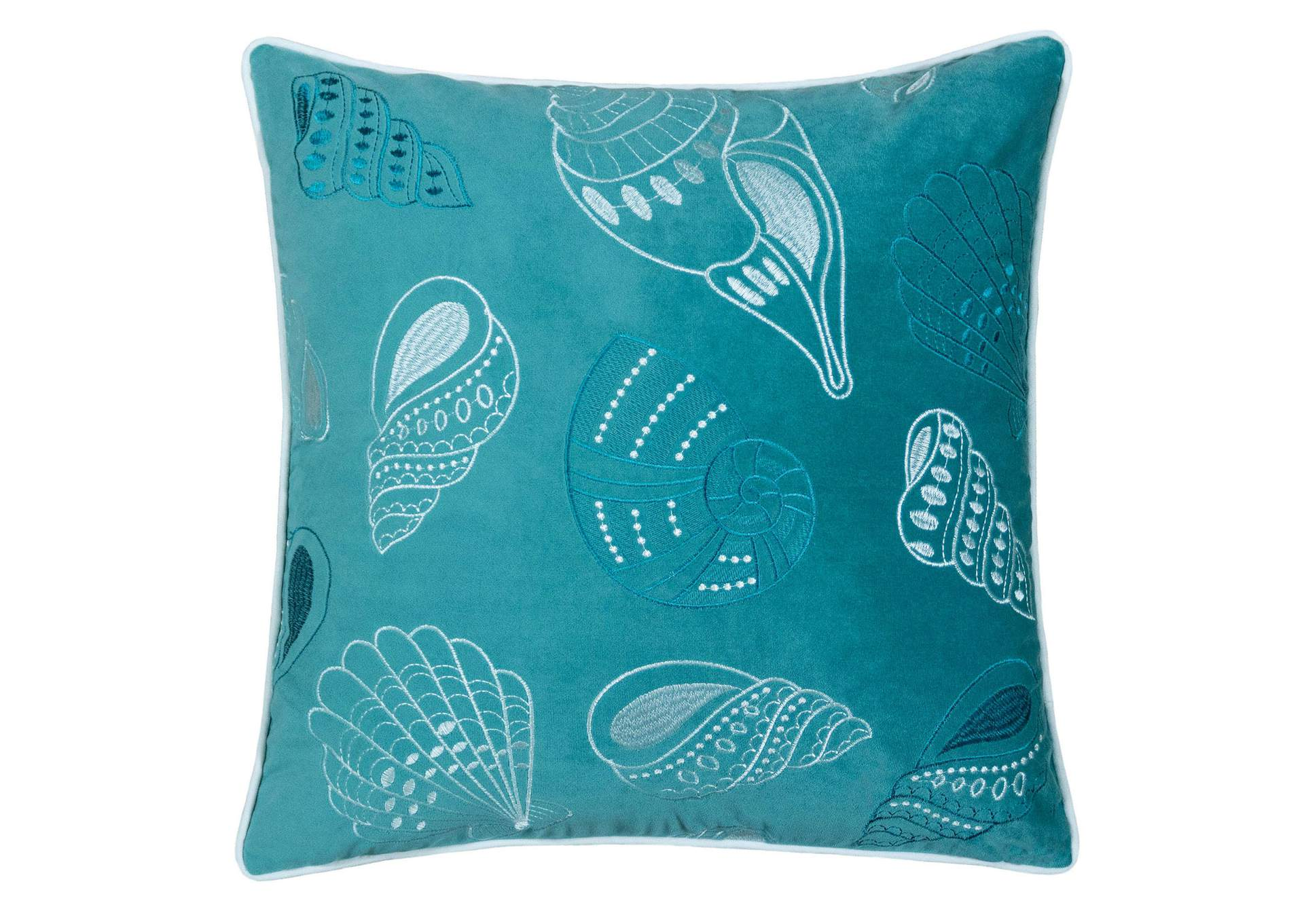 Sally Teal Accent Pillow,Furniture of America
