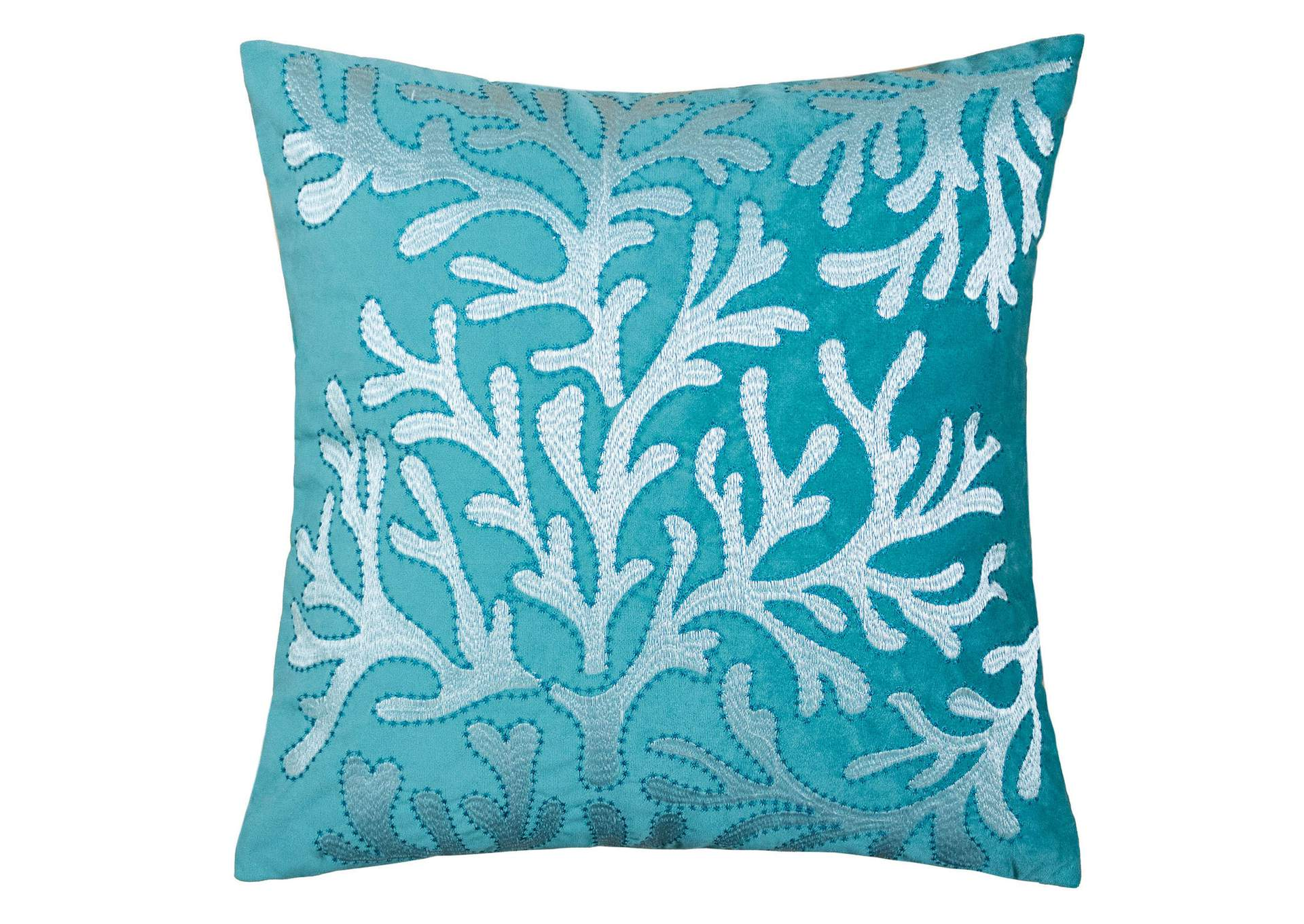 June Teal Accent Pillow,Furniture of America
