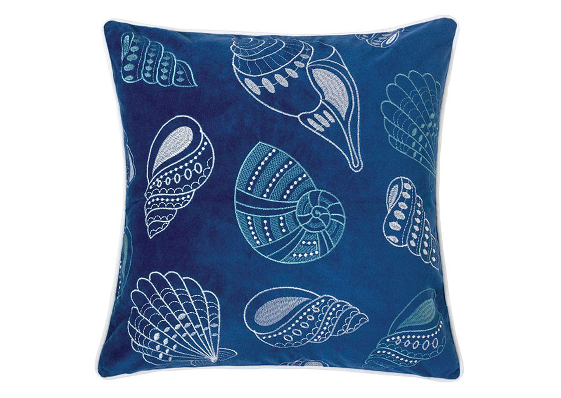 Kimmy Blue Accent Pillow,Furniture of America