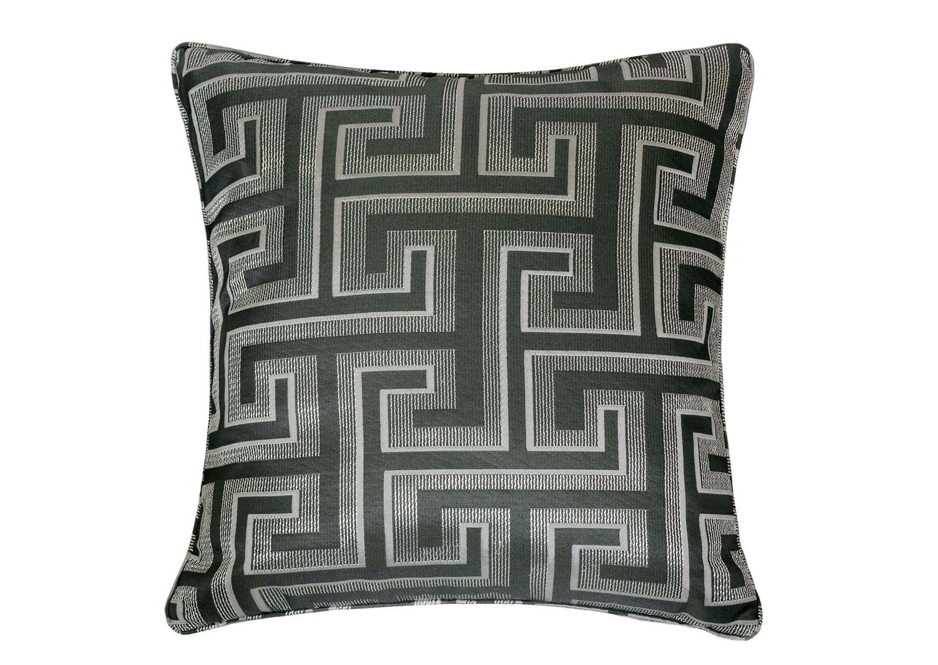 Macie Silver Accent Pillow,Furniture of America