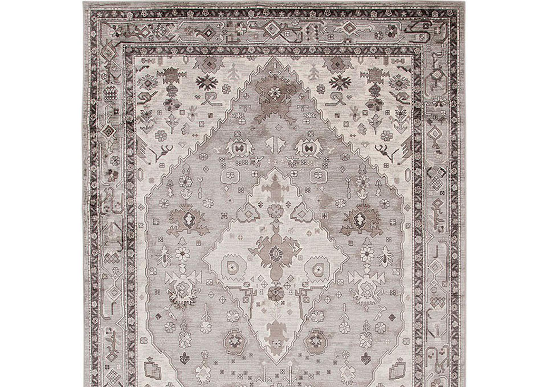 Mortsel Gray Area Rug,Furniture of America