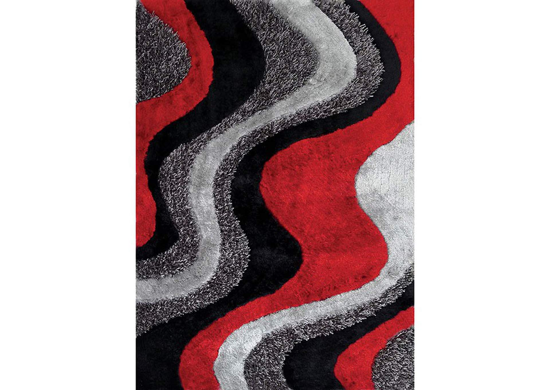 Vancouver Black Area Rug,Furniture of America