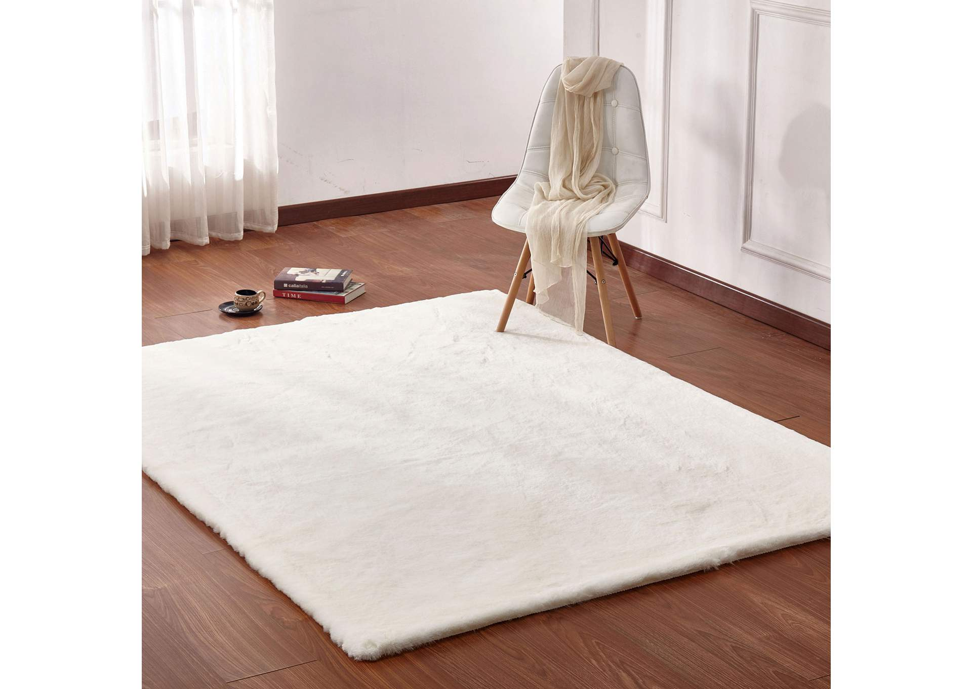 Caparica Off-White Area Rug,Furniture of America