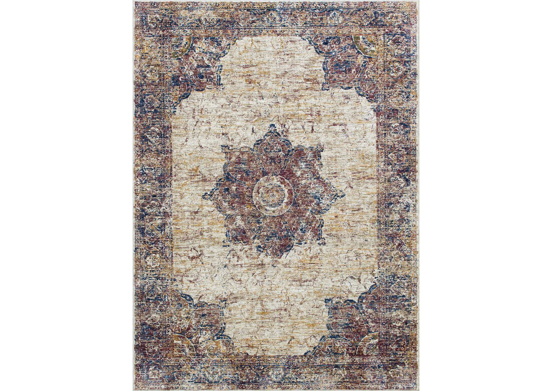 Payas Multicolor Area Rug,Furniture of America