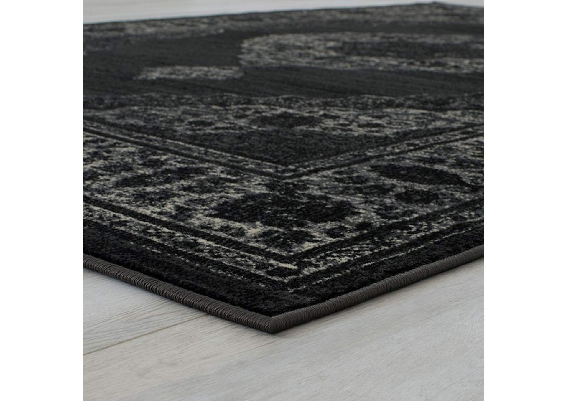 Kozlu Dark Gray Area Rug,Furniture of America