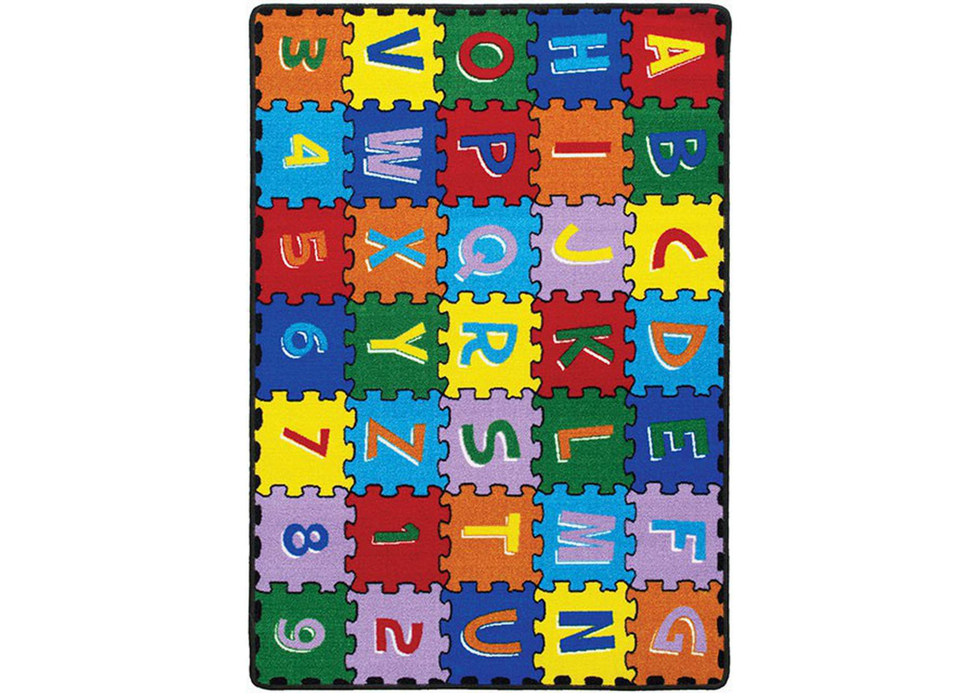 Abbey Alphabet Area Rug,Furniture of America