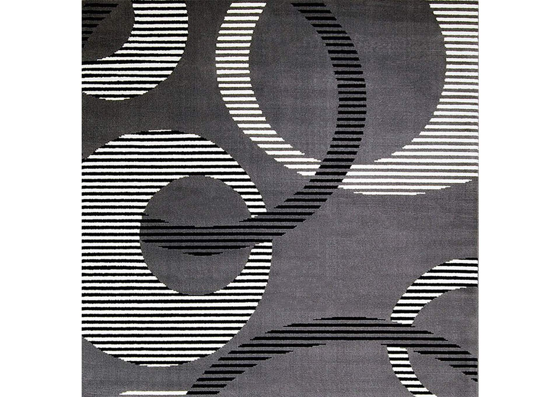 Blitar Dark Gray Area Rug,Furniture of America
