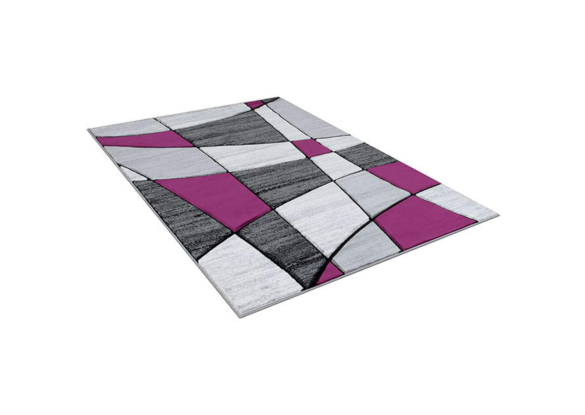 Niksar Gray/Purple Area Rug,Furniture of America